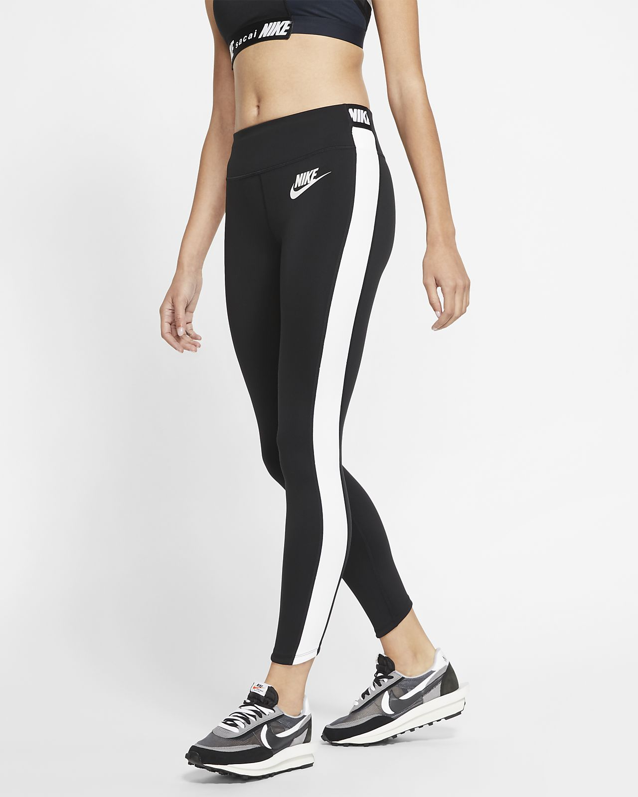 top quality info for no sale tax Nike x Sacai Lauf-Tights für Damen