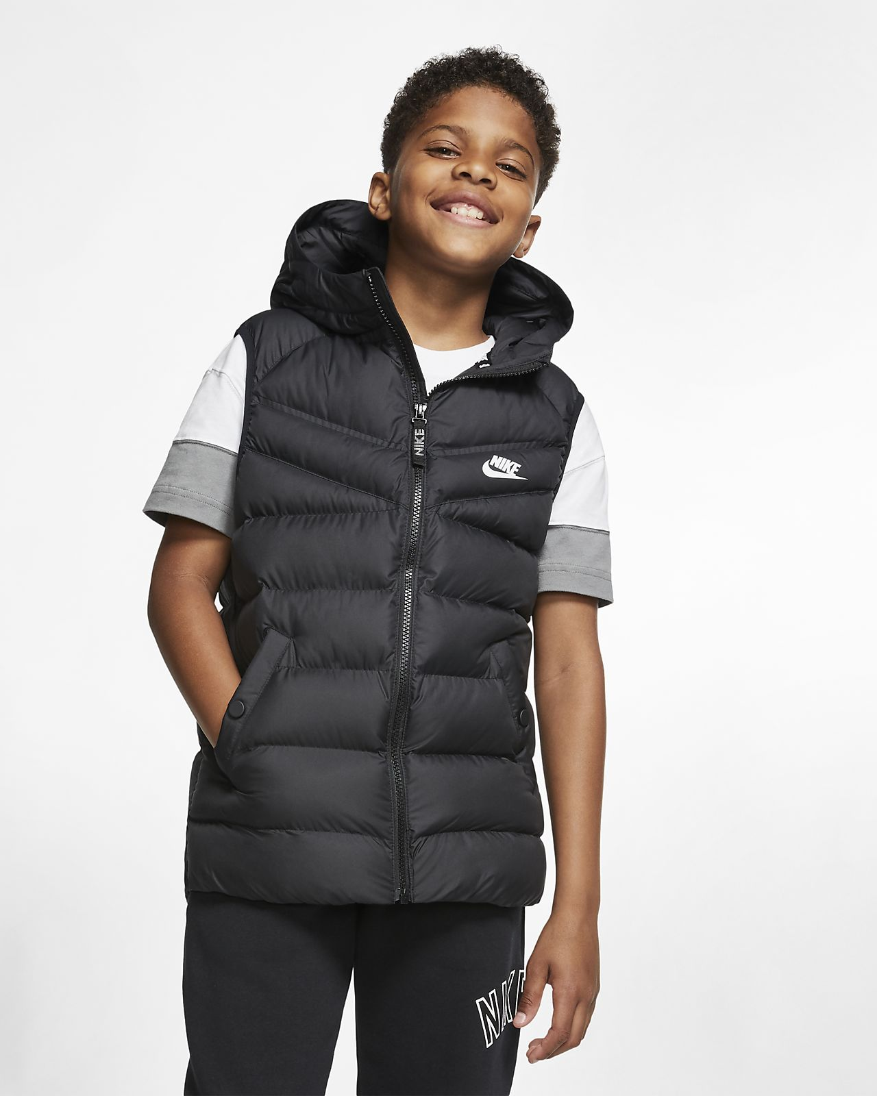 meilleur site web 00845 797a6 Nike Sportswear Older Kids' Synthetic-Fill Gilet