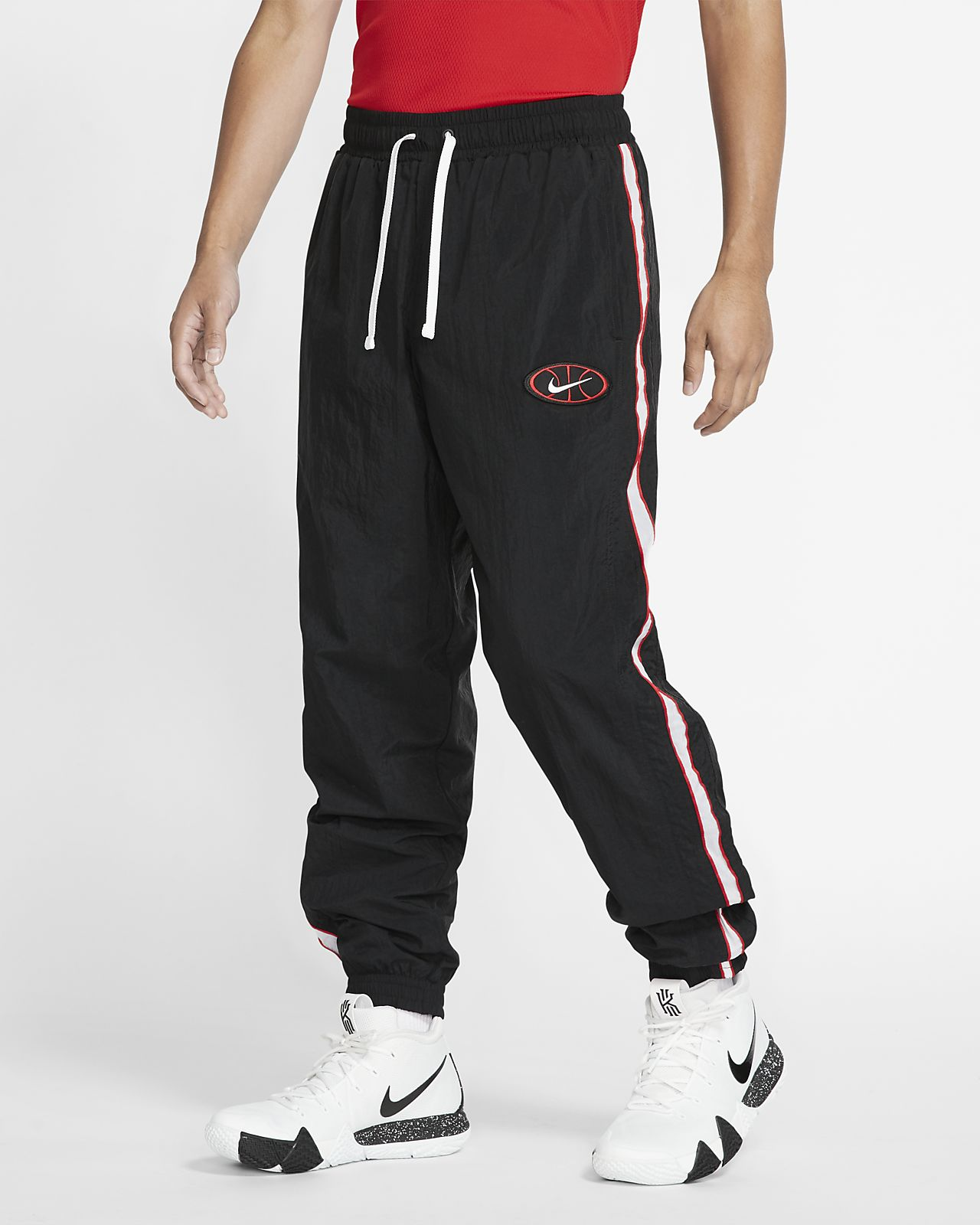 Pantalones de básquetbol de tejido Woven para hombre Nike Throwback