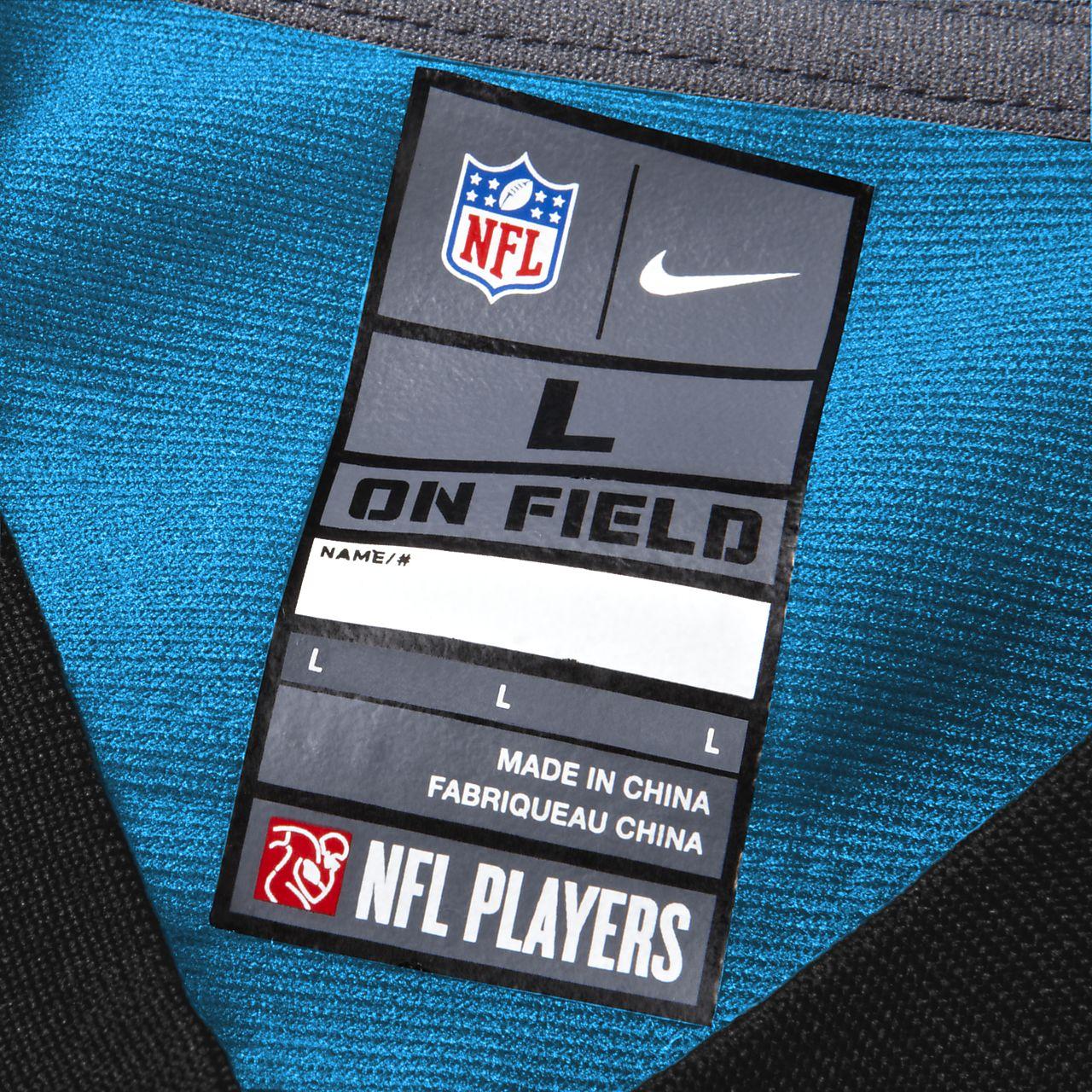 quality design 54cb1 c15a7 NFL Carolina Panthers (Cam Newton) Men's Game Football Jersey