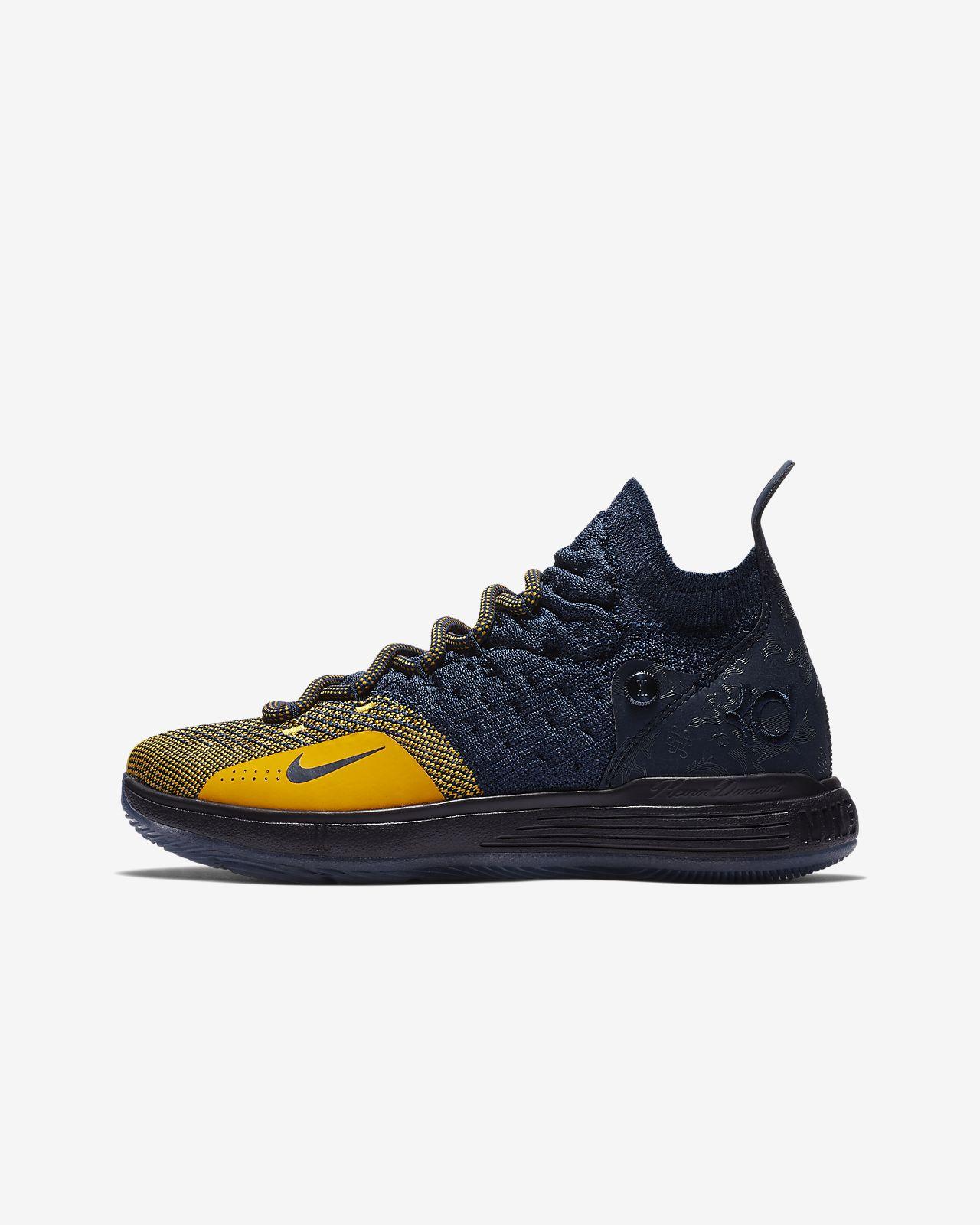 รองเท้าบาสเก็ตบอลเด็กโต Nike Zoom KD11
