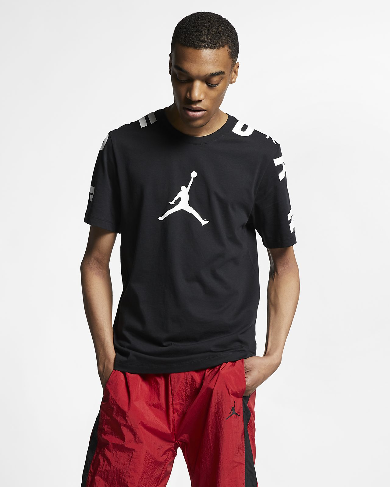 3f1be1e5b74bd9 Jordan Stretch 23 Men s T-Shirt. Nike.com GB