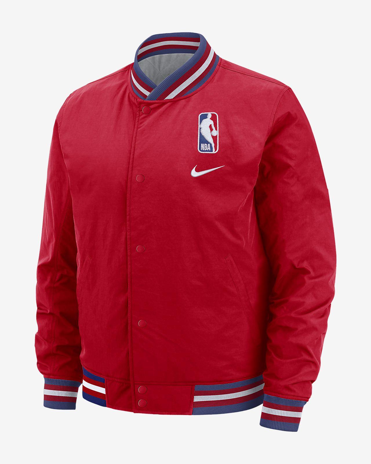 Team 31 Courtside Nike NBA-s férfikabát