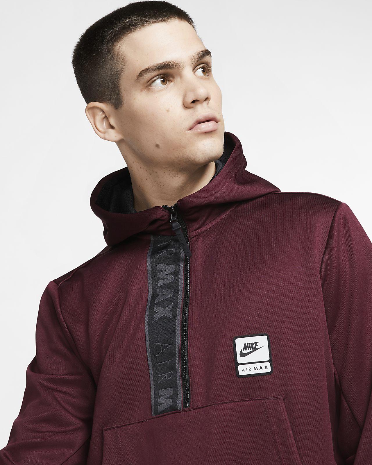 Sweat à capuche à demi zip Nike Sportswear Air Max pour Homme