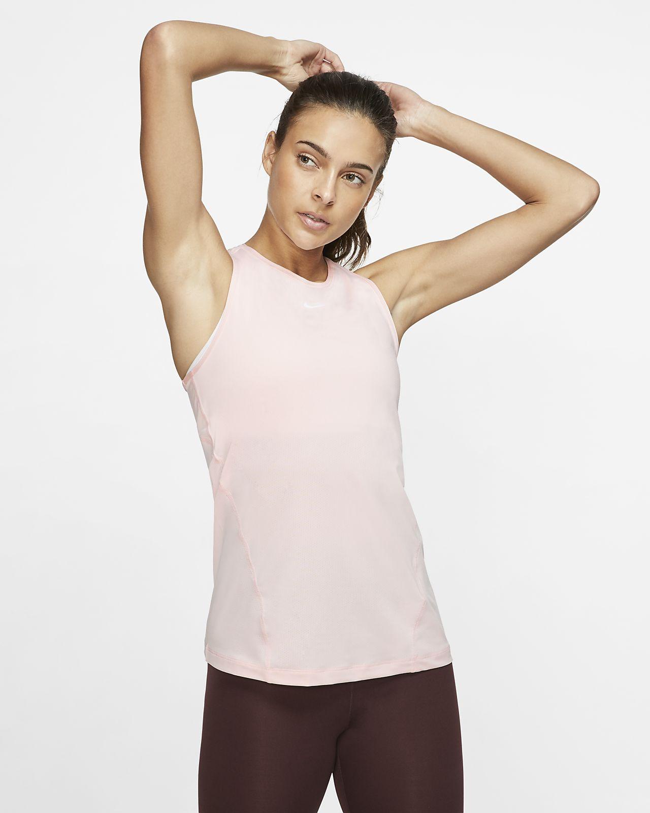 Nike Pro-tanktop i mesh til kvinder