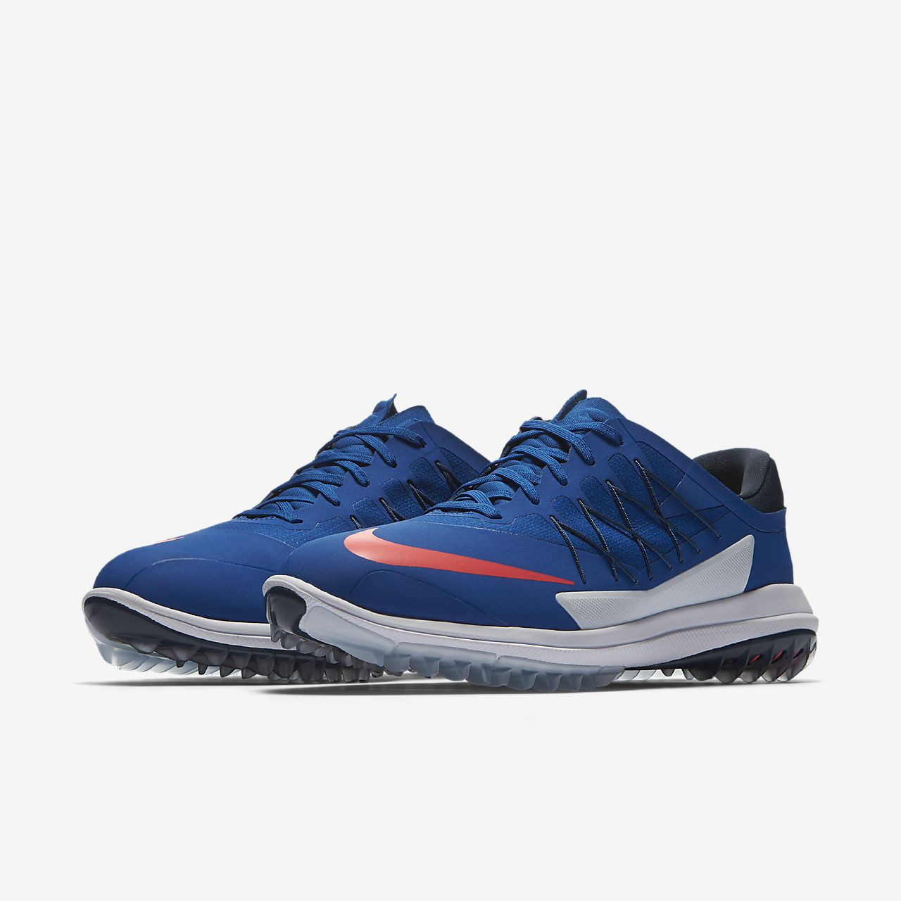 nike lunarlon mens blue nike flyknit one plus