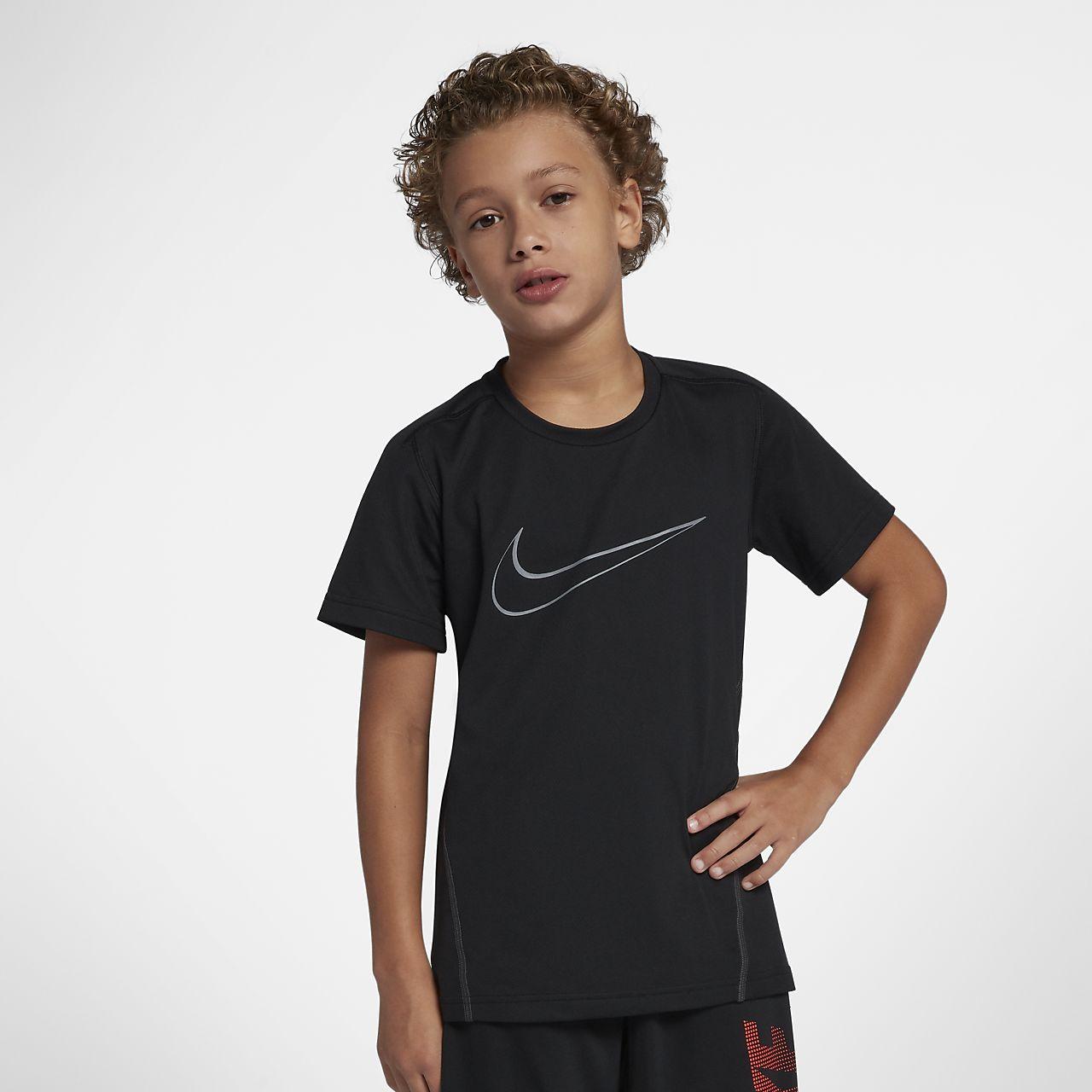 Haut de training à manches courtes Nike Dri-FIT pour Garçon plus âgé ... ba44949c875d