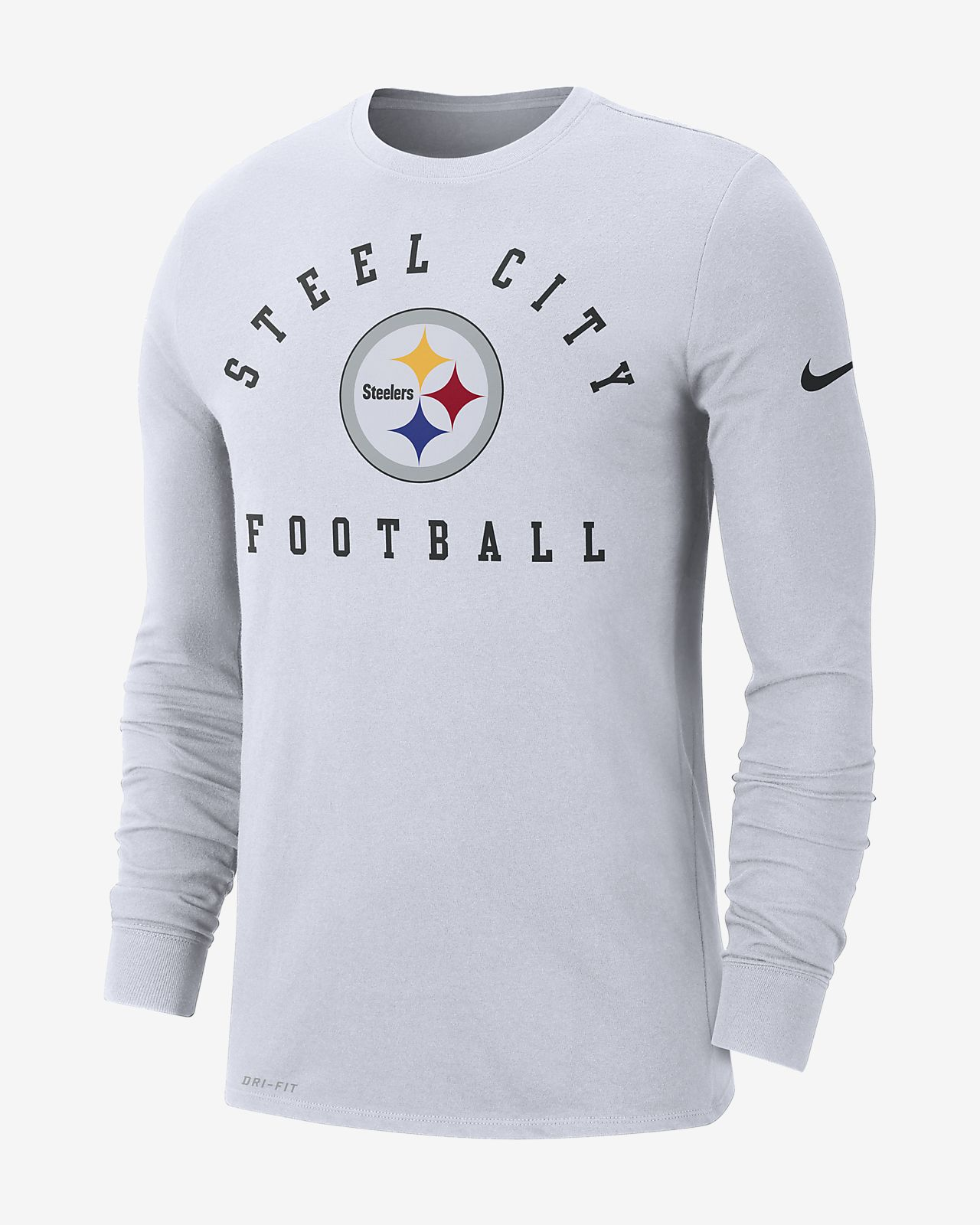 Nike Sideline Local (NFL Steelers) Men's Long-Sleeve T-Shirt