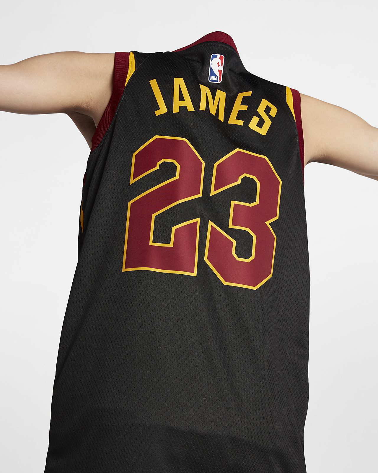 70b4924a9e0 ... LeBron James Statement Edition Swingman (Cleveland Cavaliers) Men s  Nike NBA Connected Jersey
