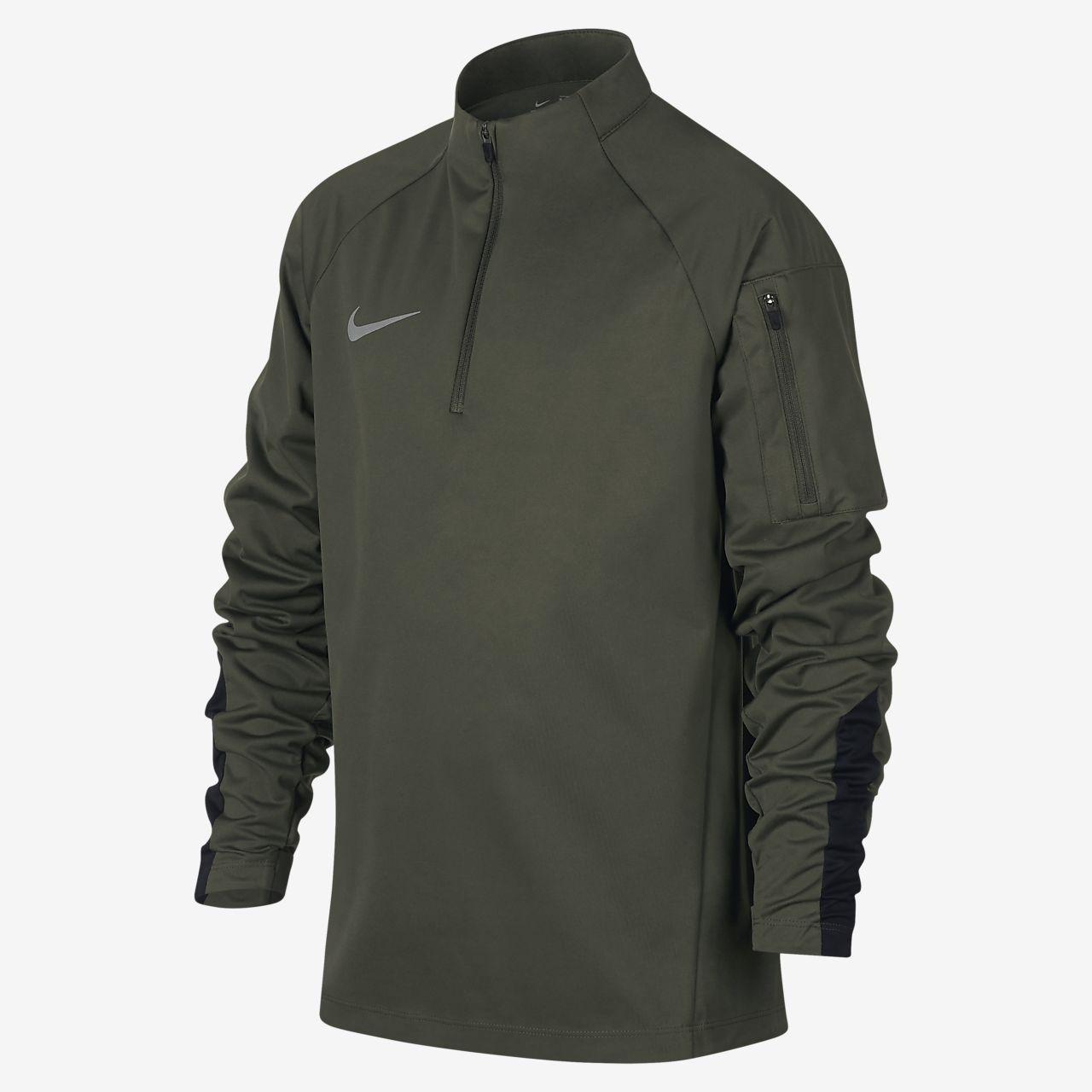 Nike Shield Squad-fodboldtræningsoverdel til store børn (drenge)