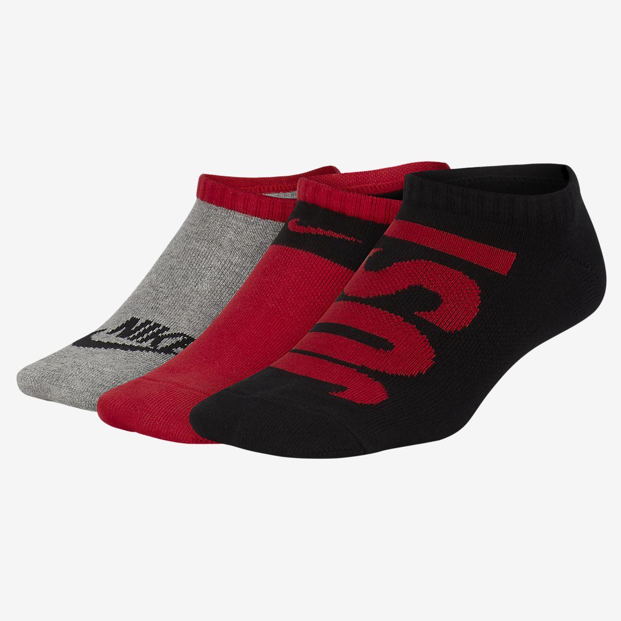 Calcetines de entrenamiento para niños (3 pares) Nike Performance Lightweight Low