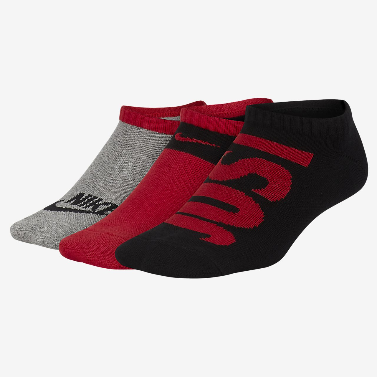 Nike Performance Lightweight Low Kids' Training Socks (3 Pairs)