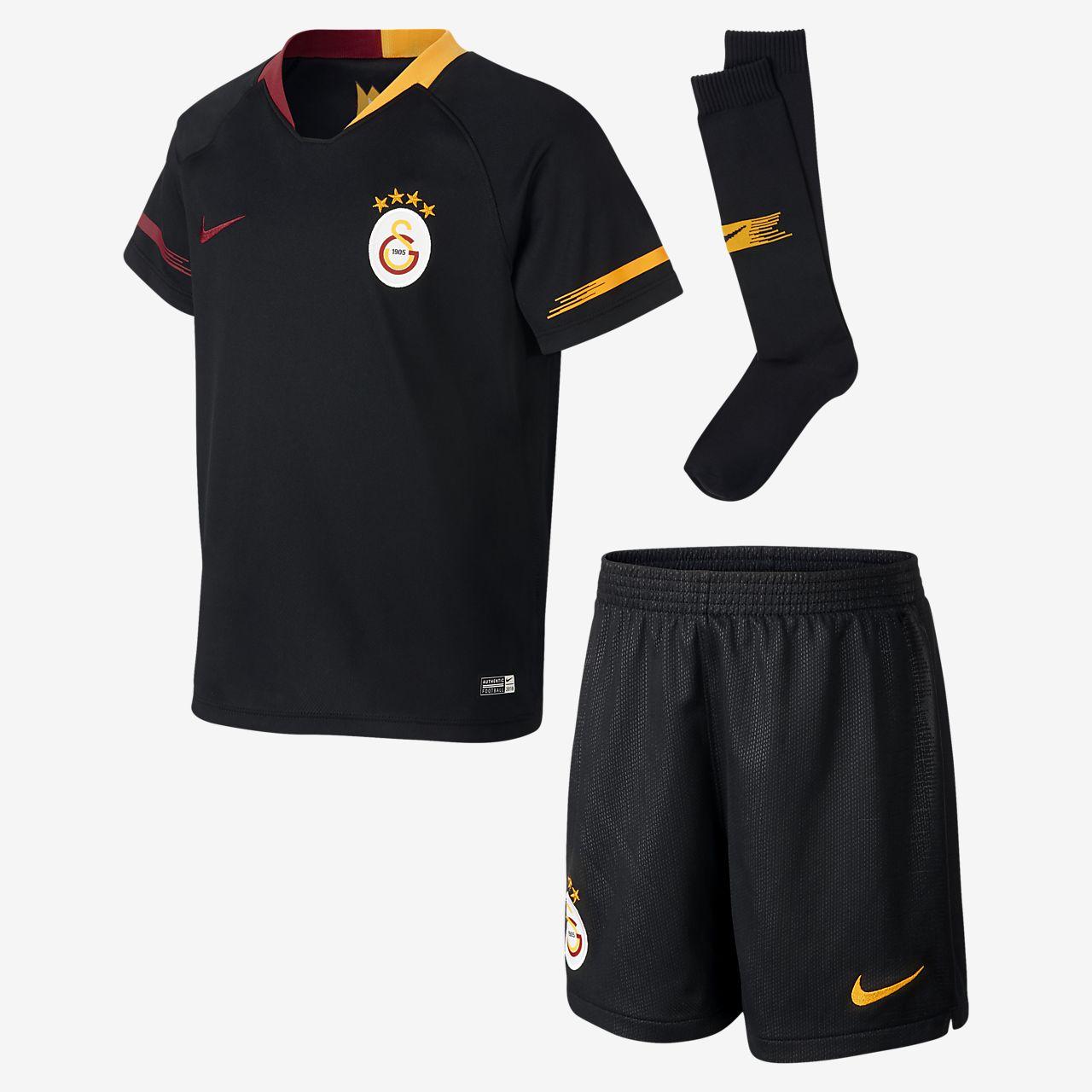 2018/19 Galatasaray S.K. Stadium Away-fodboldsæt til små børn
