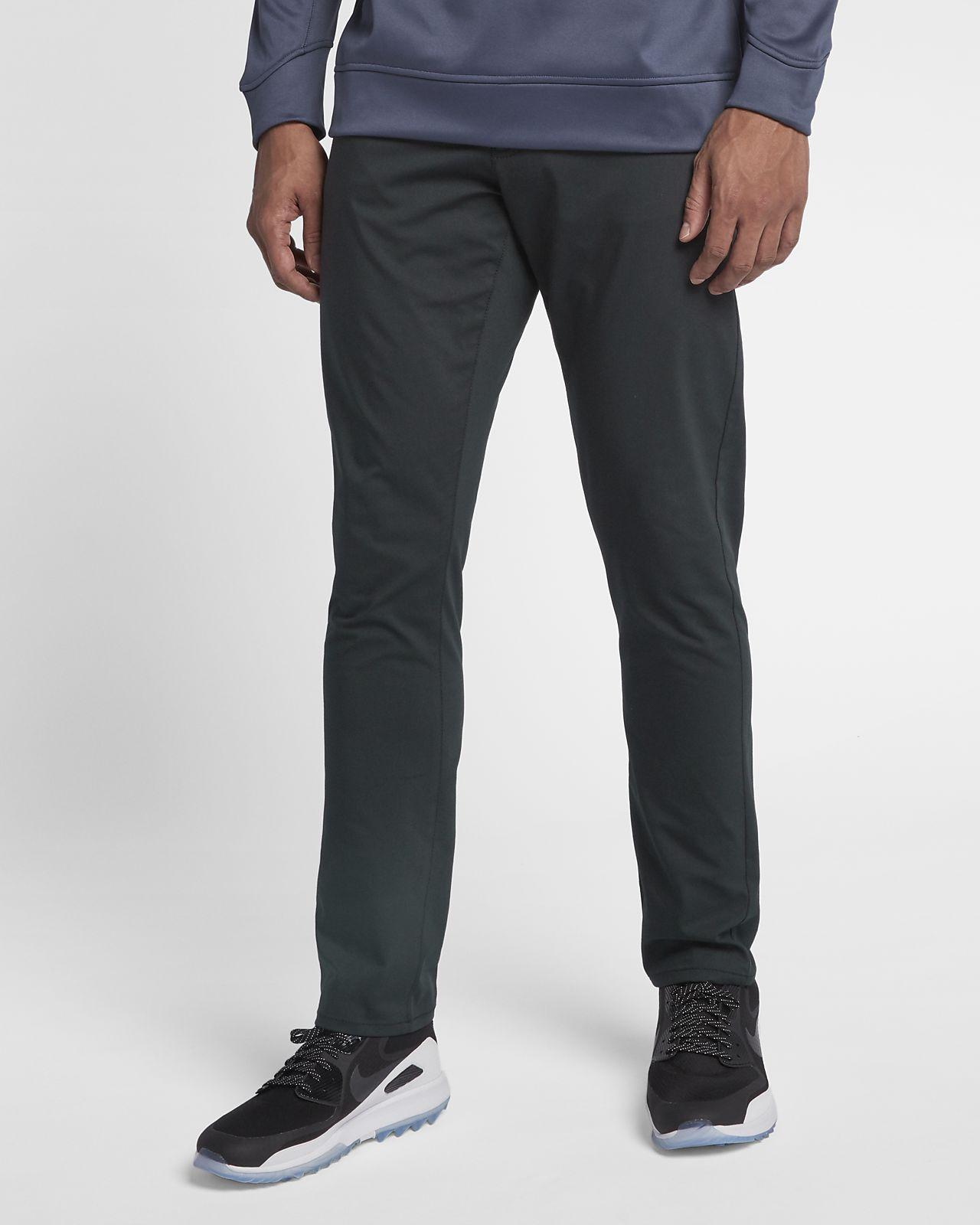 Calças de golfe de ajuste estreito com bolso Nike Flex 5 para homem