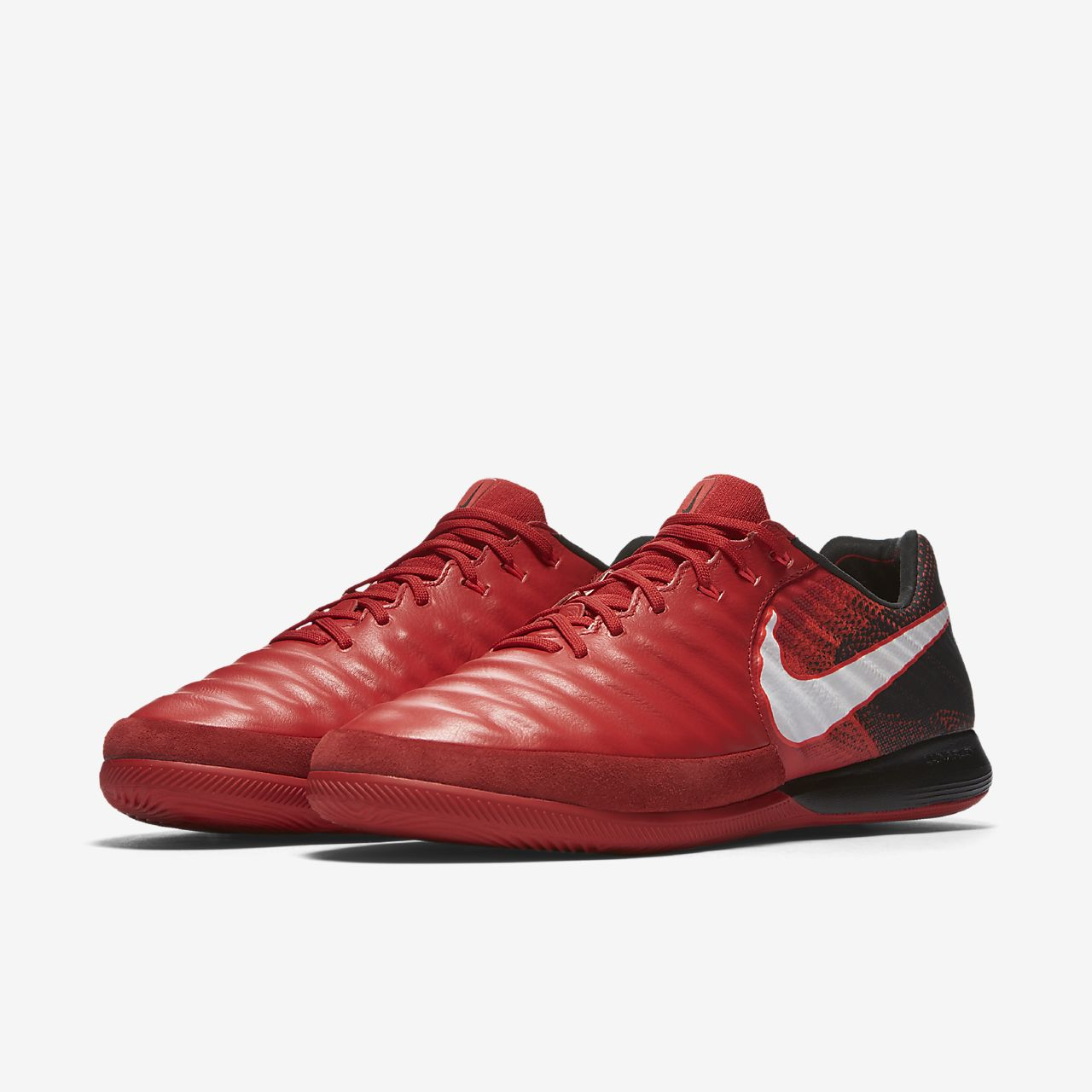 Nike TiempoX Proximo II Indoor/Court Women's Football Shoes Red/Black/White yC7575B