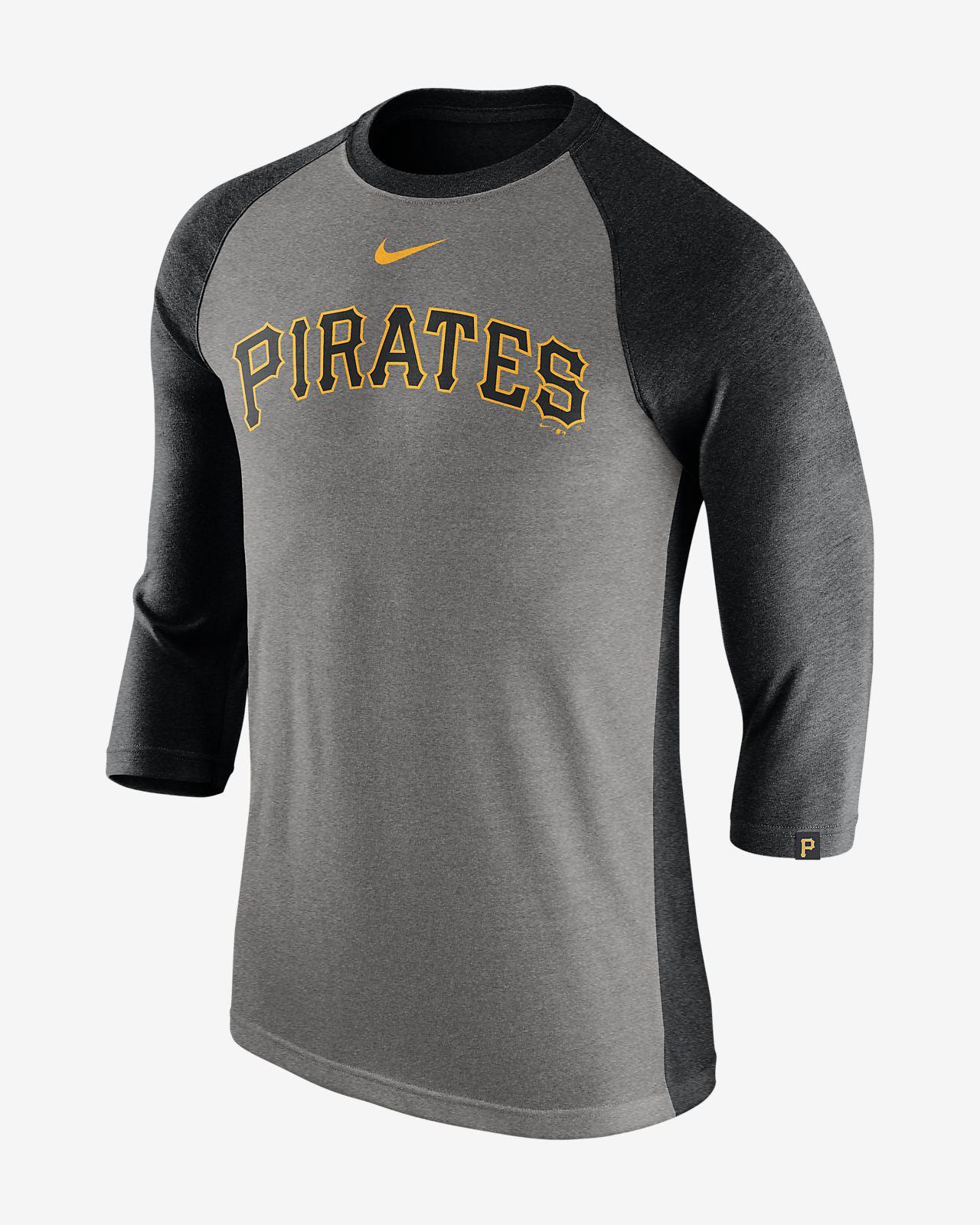 Nike Tri Raglan (MLB Pirates) Men's 3/4 Sleeve Top