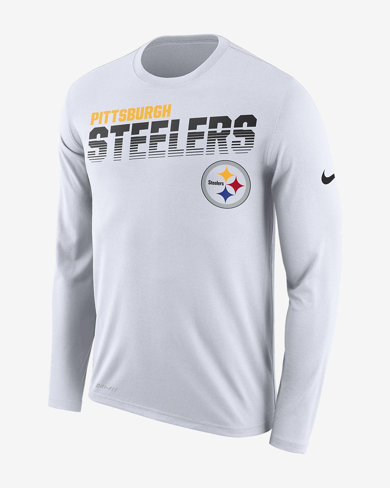 Nike Legend (NFL Steelers) Men's Long-Sleeve T-Shirt