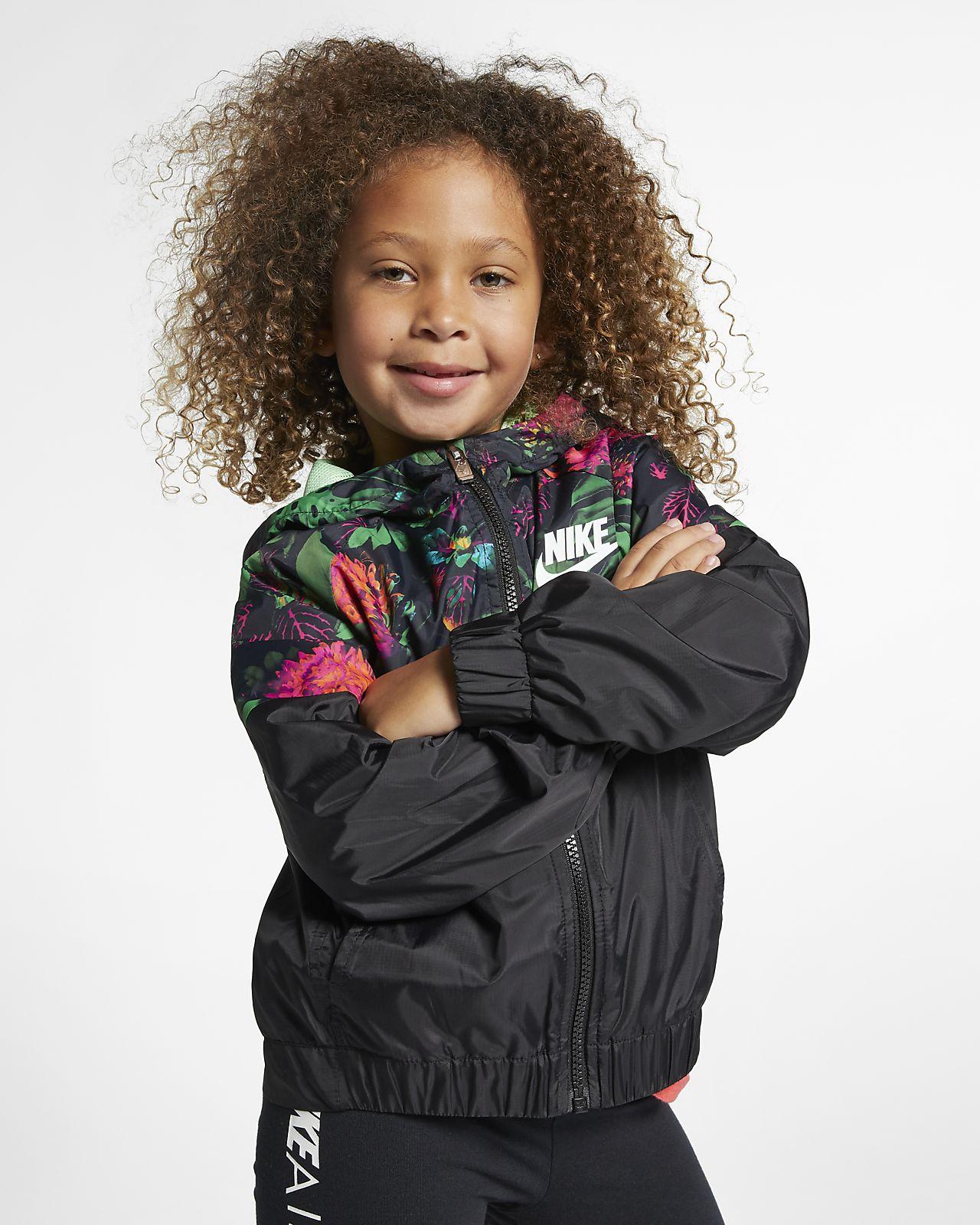 Nike Sportswear Windrunner Jacke für jüngere Kinder