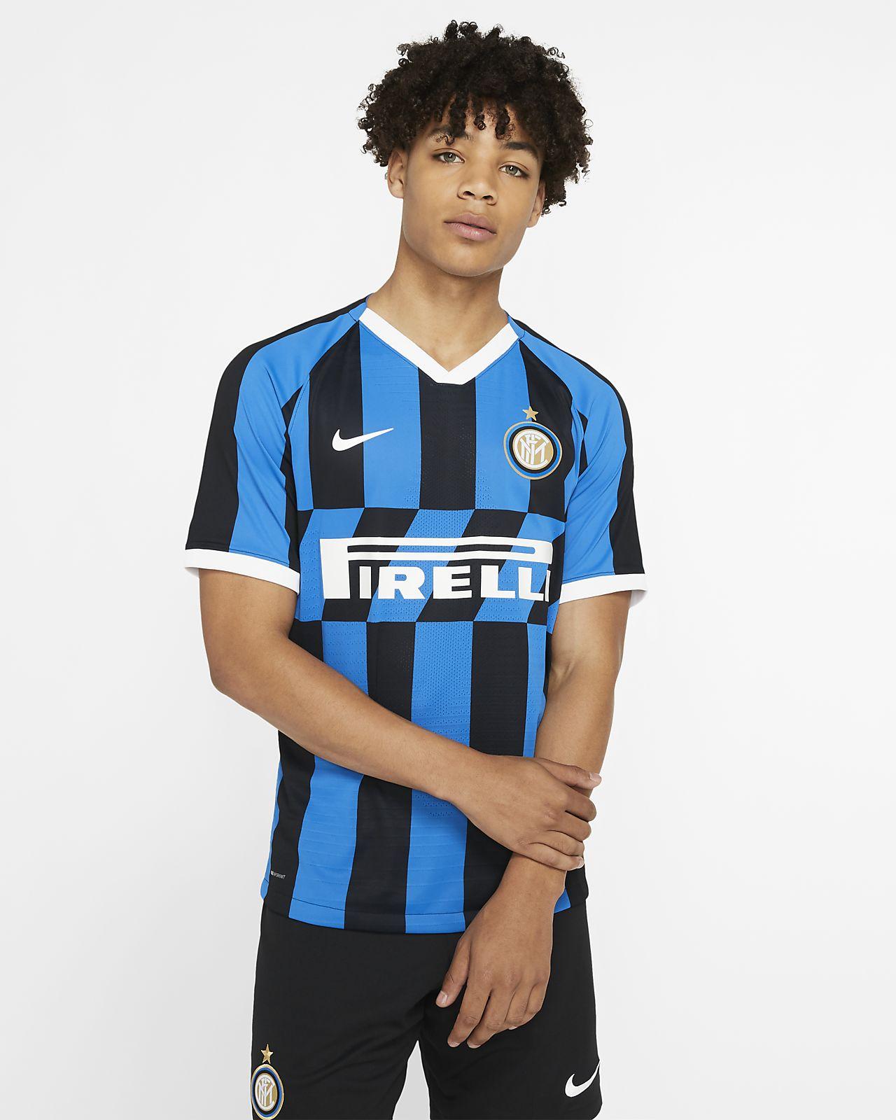 Camiseta de fútbol de local para hombre Vapor Match del Inter de Milán 2019/20