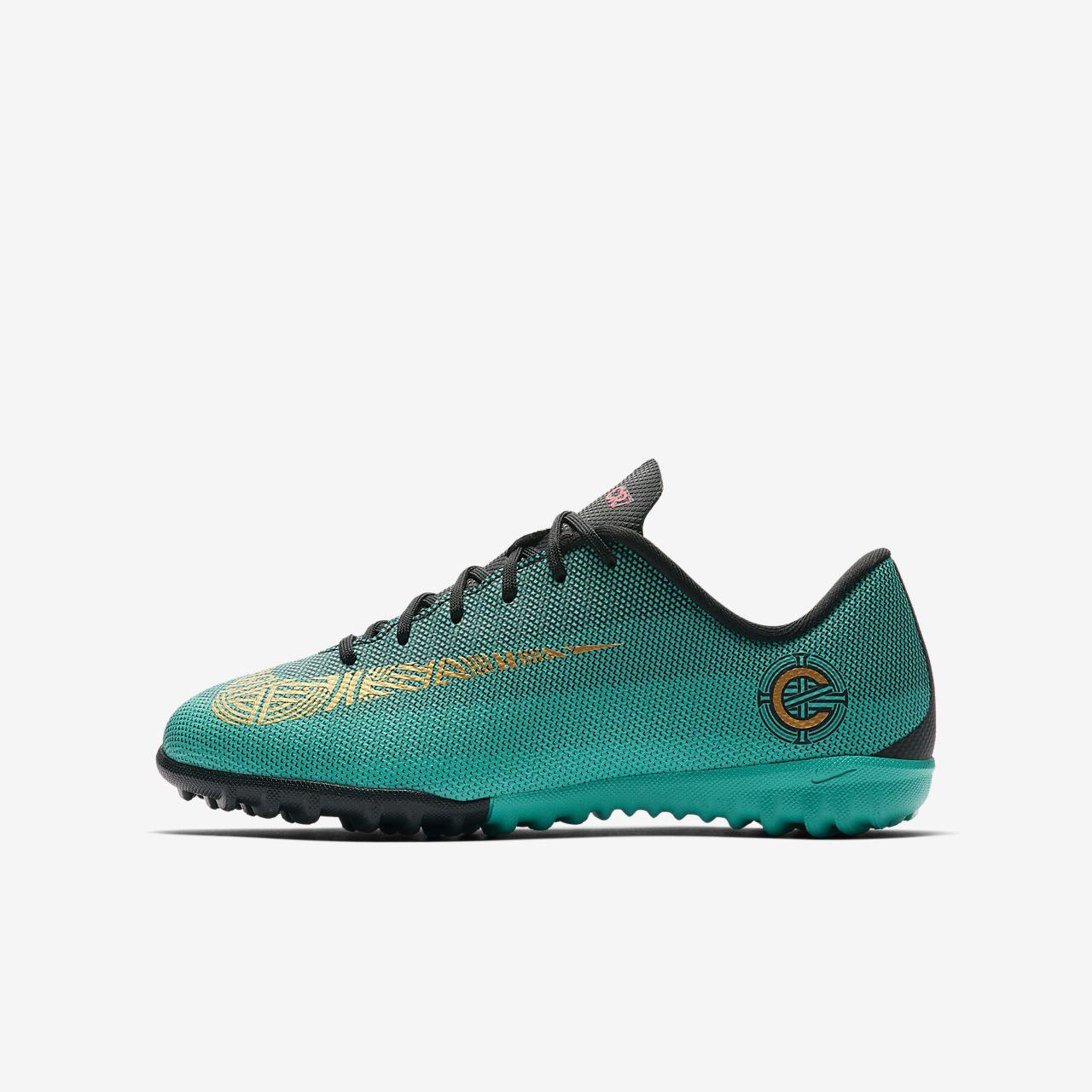 Nike Jr. MercurialX Vapor XII Academy CR7 Botas de fútbol para ...