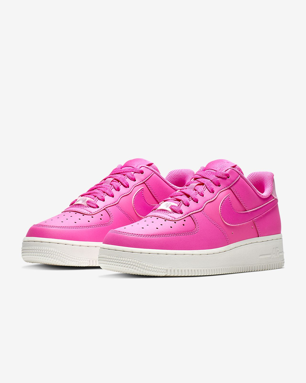 nike air force 1 rosa fluo