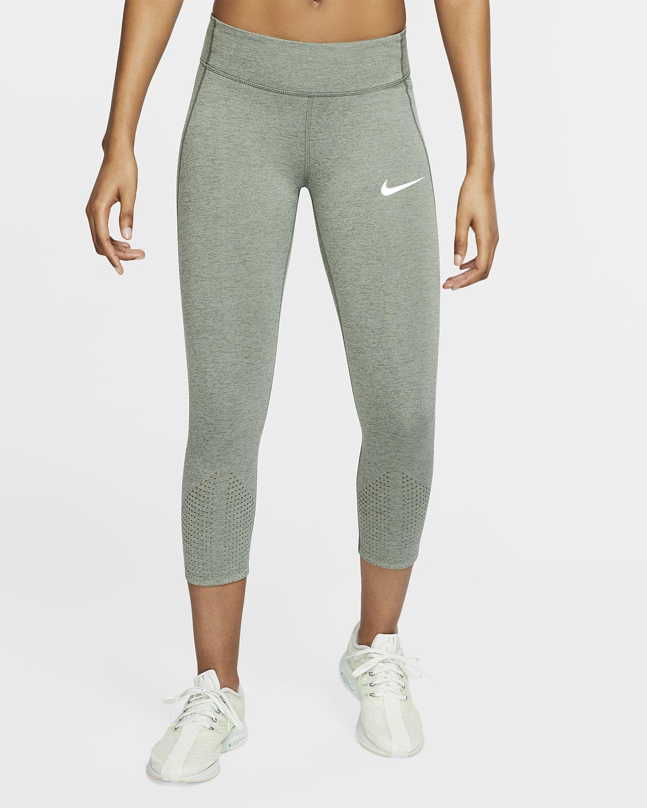 Женские укороченные тайтсы для бега Nike Epic Lux