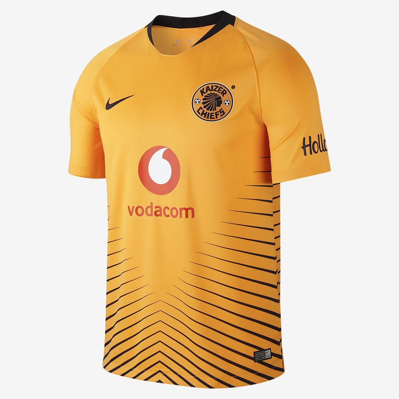 2018 19 Kaizer Chiefs FC Stadium Home Camiseta de fútbol - Hombre ... f2388b38e5fbb