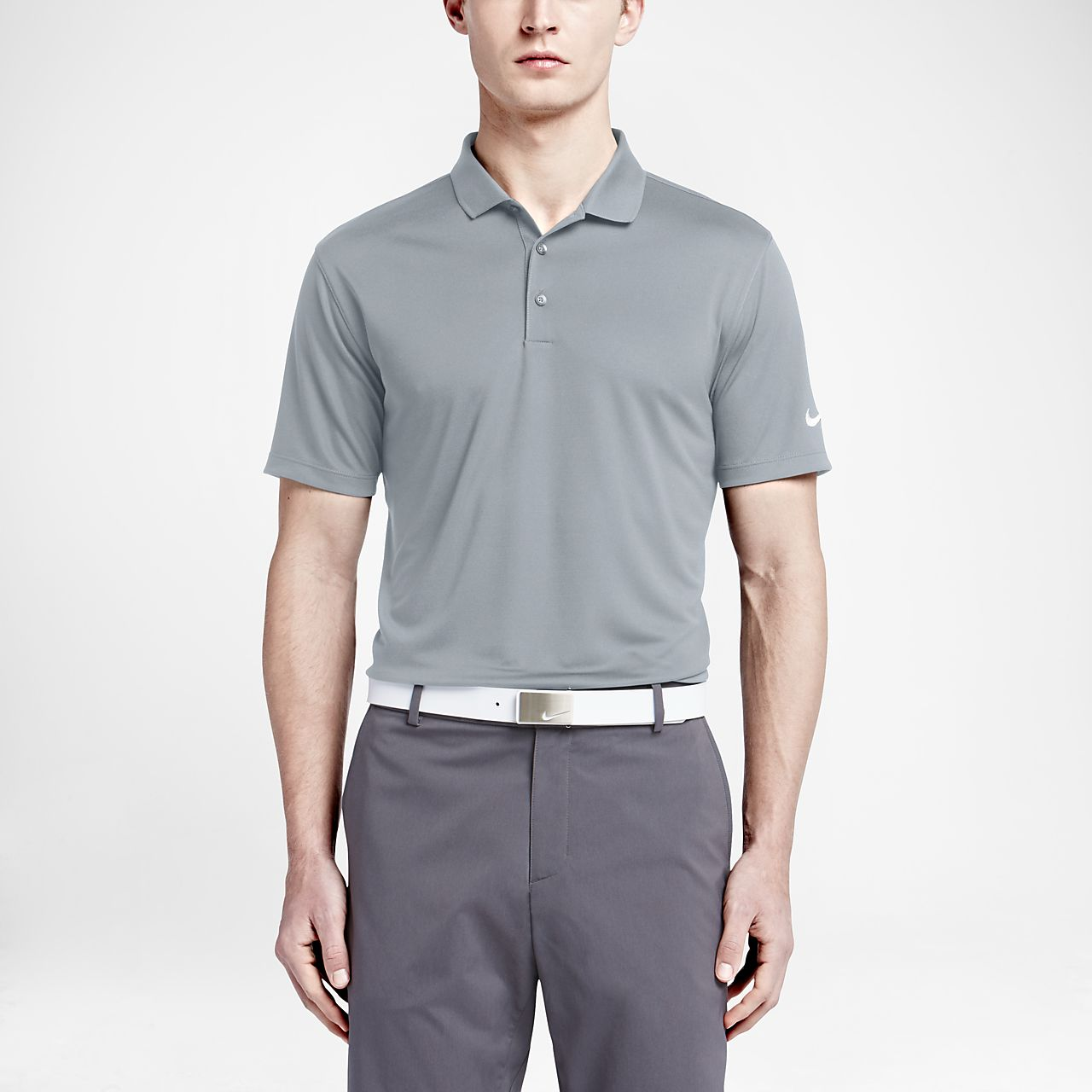 ... Nike Victory Solid Men's Standard Fit Golf Polo