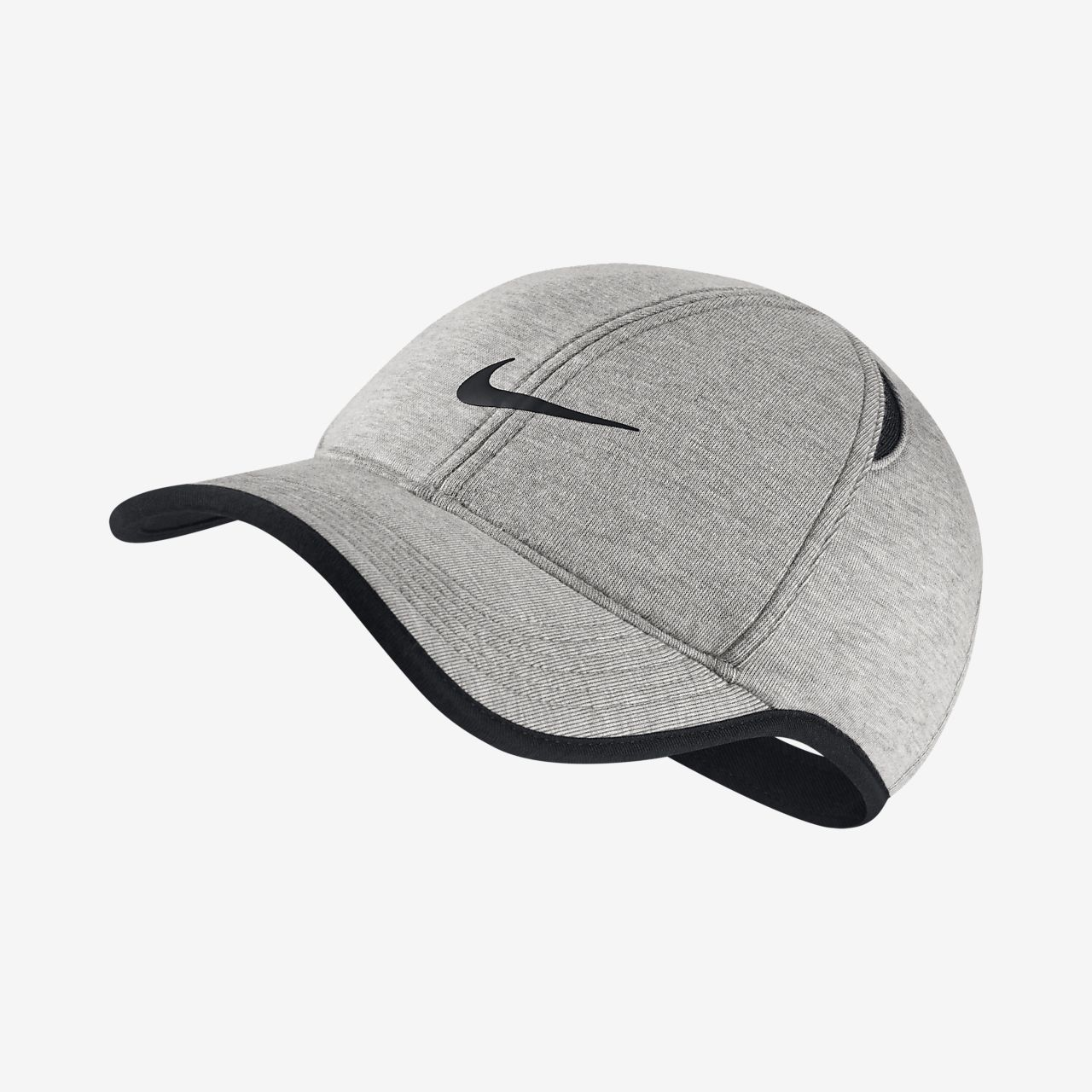NikeCourt AeroBill Featherlight Adjustable Tennis Hat. Nike.com 3725f0794b5f