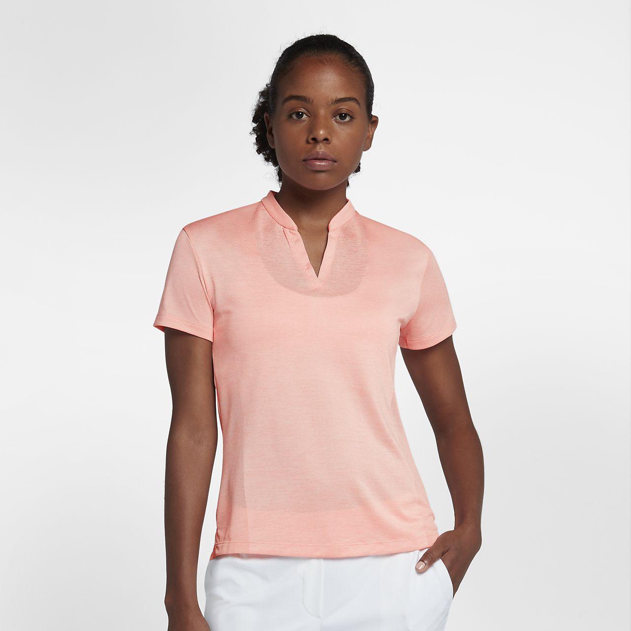 Γυναικεία μπλούζα πόλο για γκολφ Nike Zonal Cooling