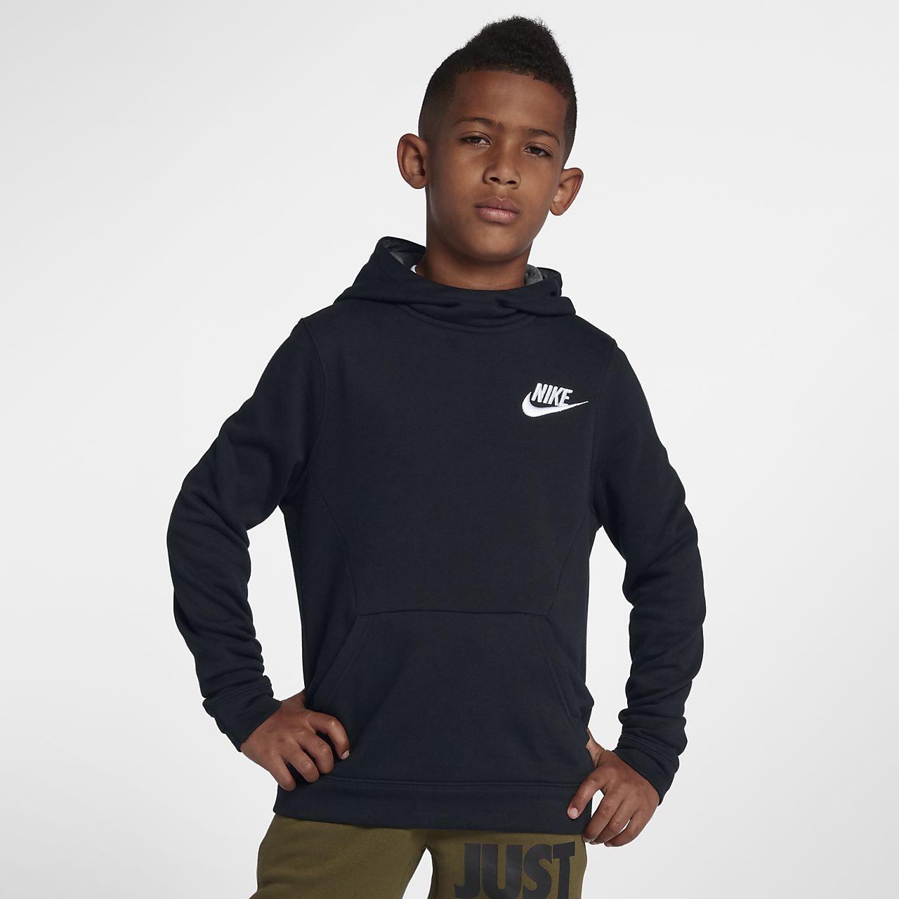 07fc3590441a28 Nike Sportswear Big Kids  (Boys ) Pullover Hoodie. Nike.com