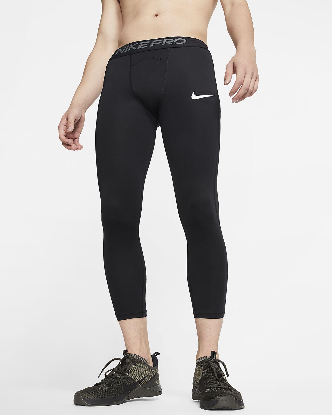 Nike Pro tights i 3/4 lengde til herre