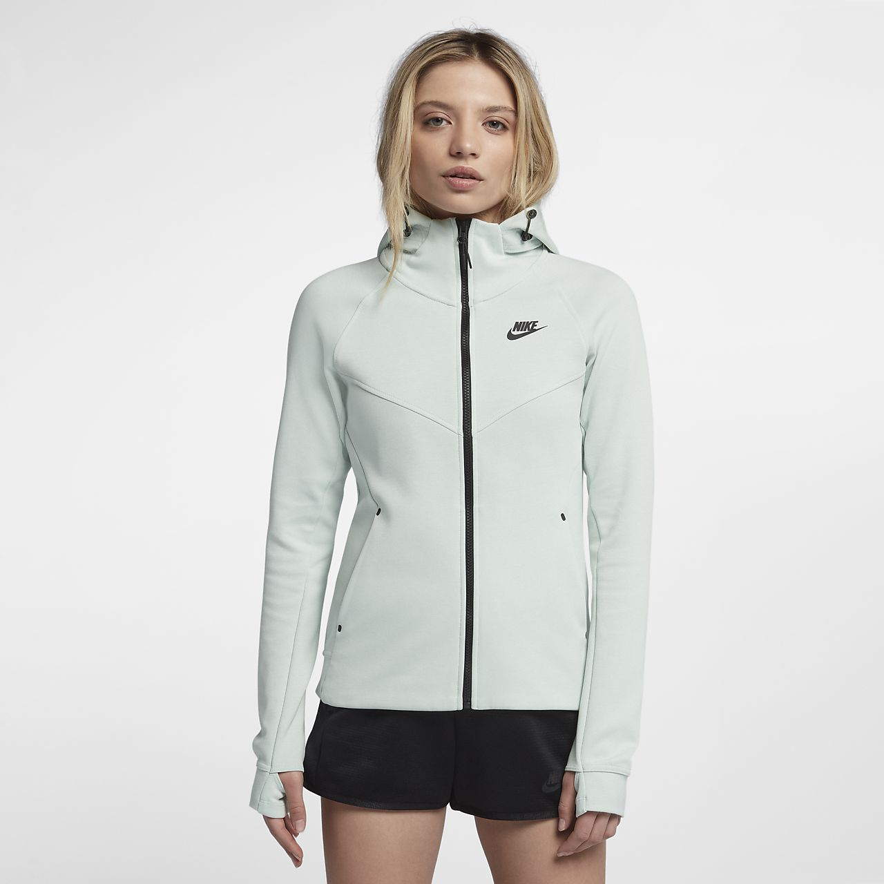 ... Nike Sportswear Tech Fleece Windrunner Women's Full-Zip Hoodie