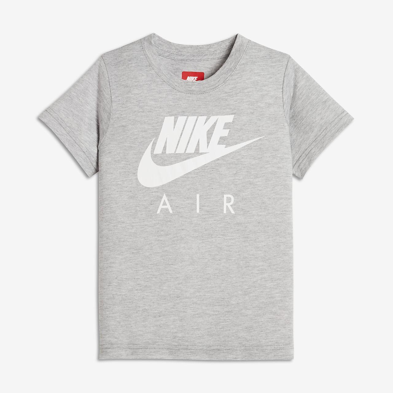 T-shirt dla małych dzieci (chłopców) Nike Air Hybrid
