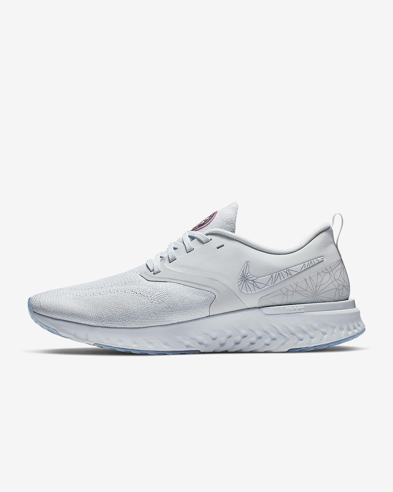 Pánská běžecká bota Nike Odyssey React Flyknit 2 s grafickým motivem