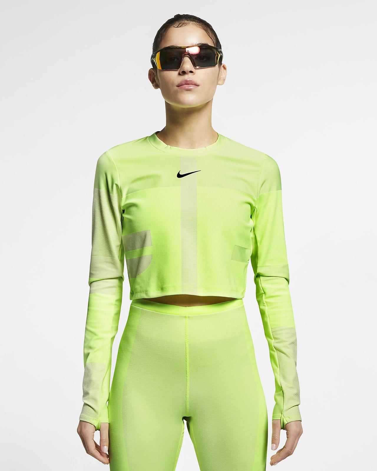 Nike Tech Camiseta de running de tejido Knit - Mujer