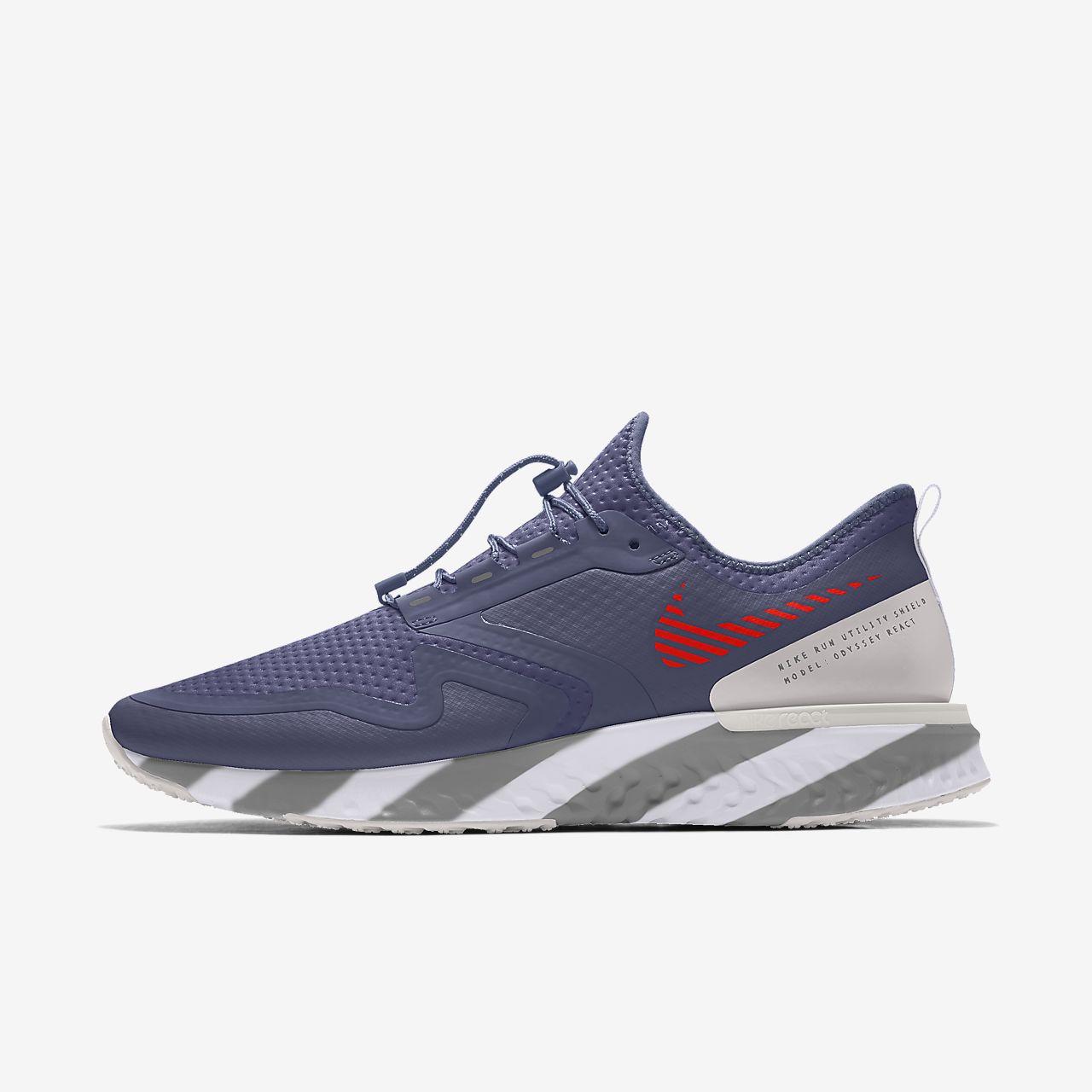 Calzado de running para mujer personalizado Nike Odyssey React Shield By You