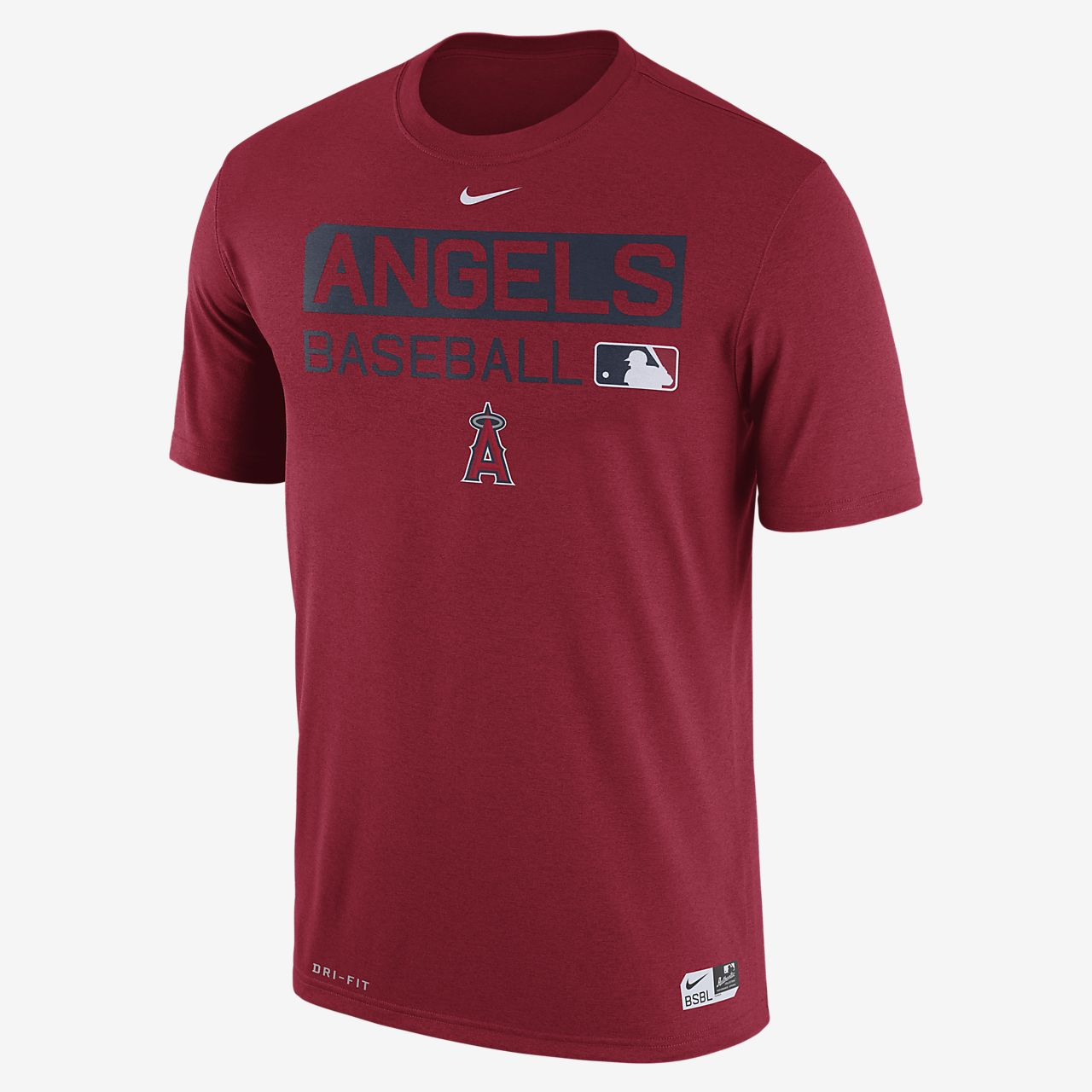 Nike Legend Team Issue (MLB Angels) Men's T-Shirts Red