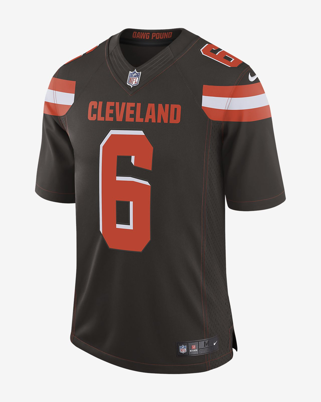 1098f7a7b42 ... NFL Cleveland Browns (Baker Mayfield) Men's Limited Football Jersey