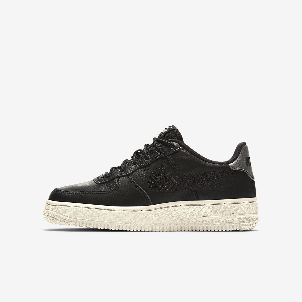 Nike Air Force 1 Premium Embroidered sko til store barn