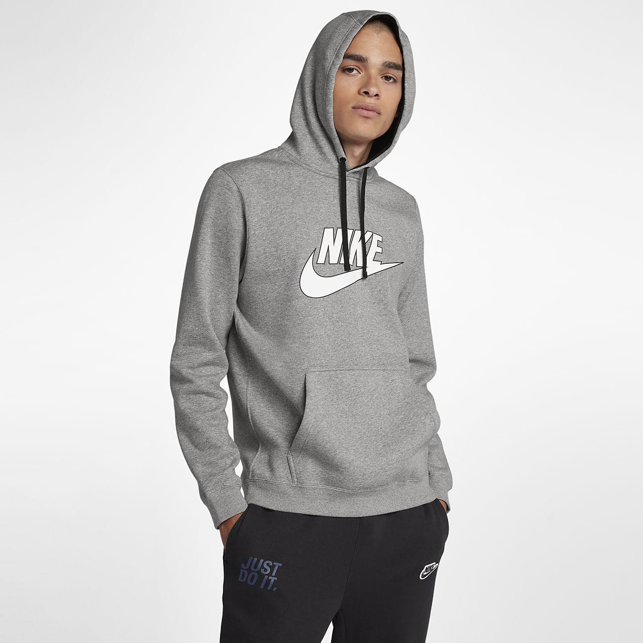 d1f1e493 Nike Sportswear Men's Fleece Pullover Hoodie. Nike.com