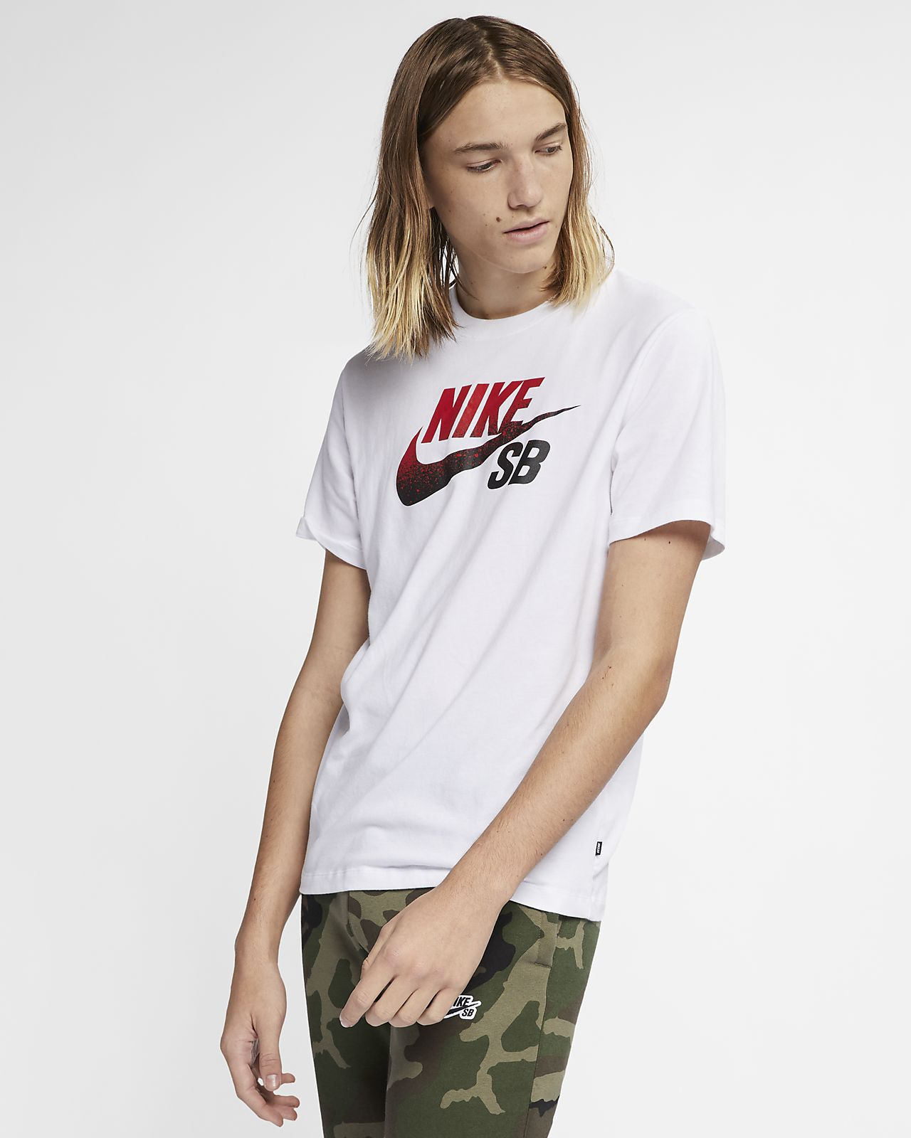 9da4bb61 Nike SB Dri-FIT Men's Logo Skate T-Shirt. Nike.com GB