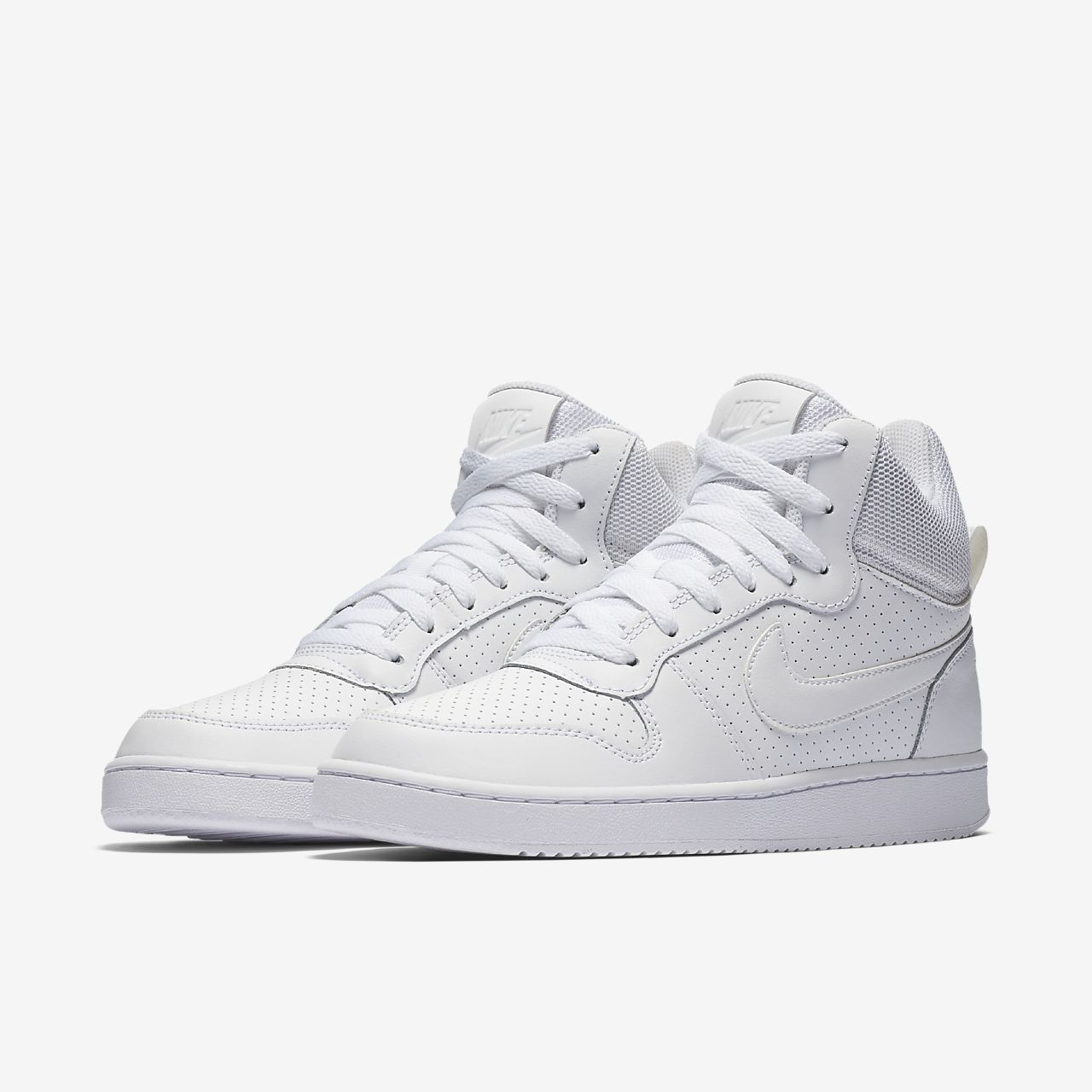 brand new f7f85 f4bcb Zapatos blancos Nike Court Borough Mid para mujer OrMu3pzG