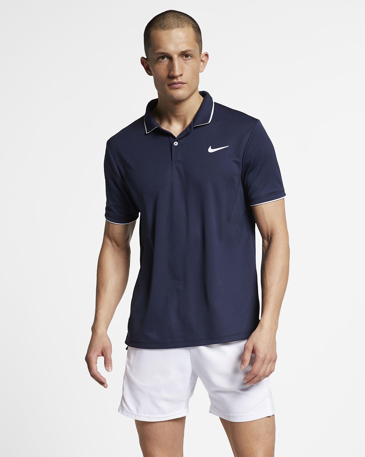 f41f92e2 NikeCourt Dri-FIT Team Men's Tennis Polo. Nike.com
