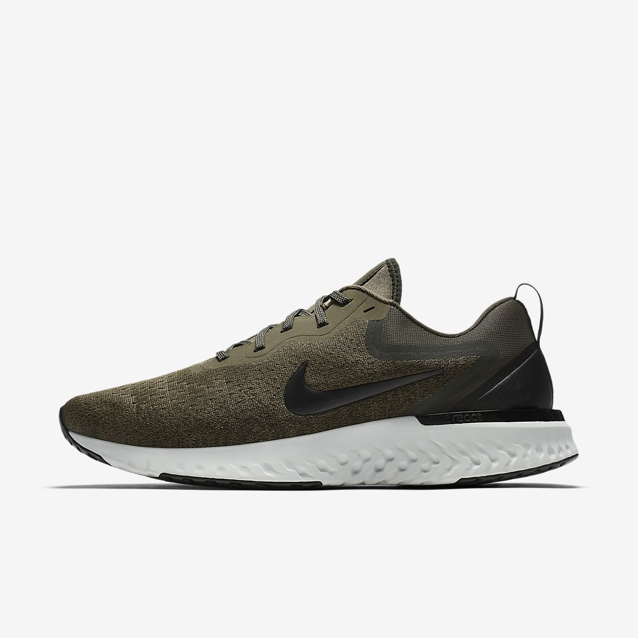 Nike Odyssey React Men's Running Shoe AO9819-200 MED OLIVE