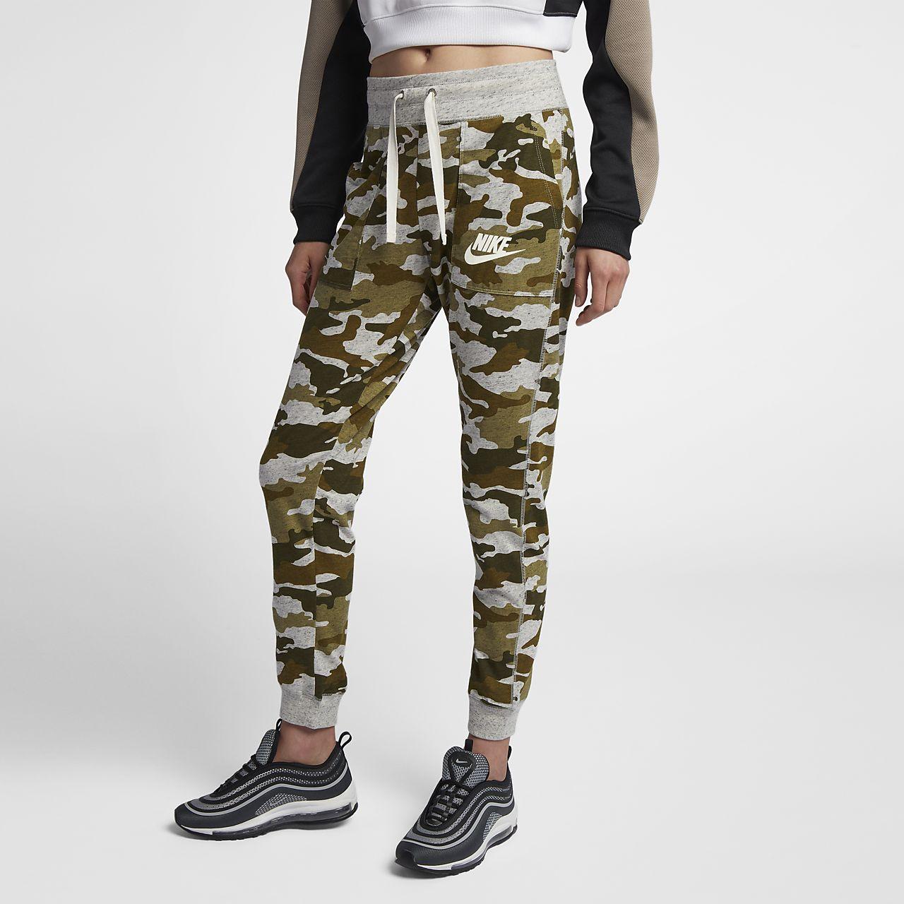 Pantalon camouflage Nike Sportswear Gym Vintage pour Femme. Nike.com FR 08ff907b112