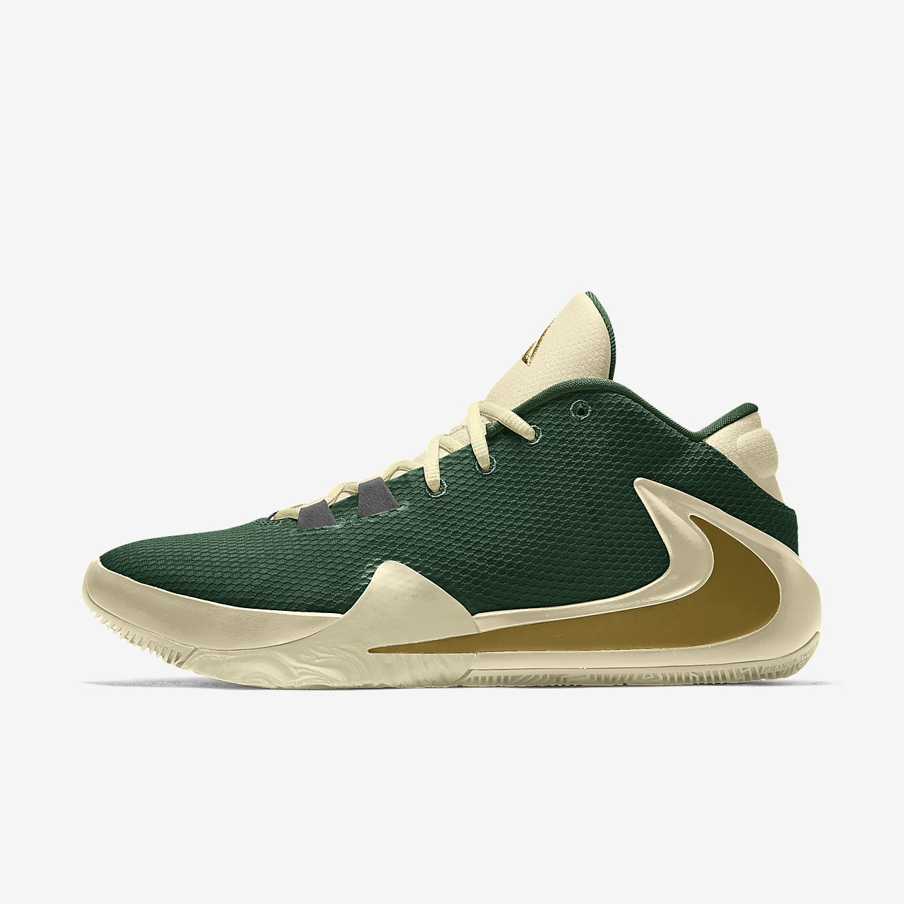 Nike Zoom Freak 1 By You personalisierbarer Basketballschuh