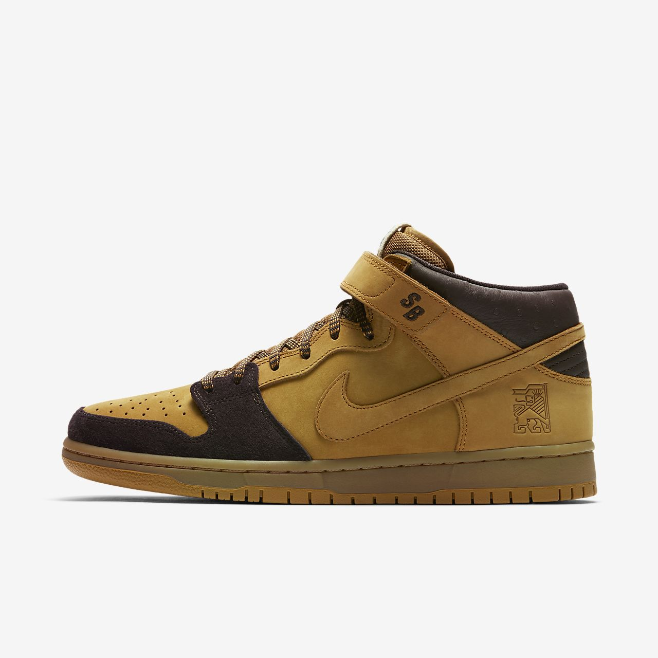 hot sale online 02372 f9c79 Nike SB Dunk Mid Pro Men's Skateboarding Shoe