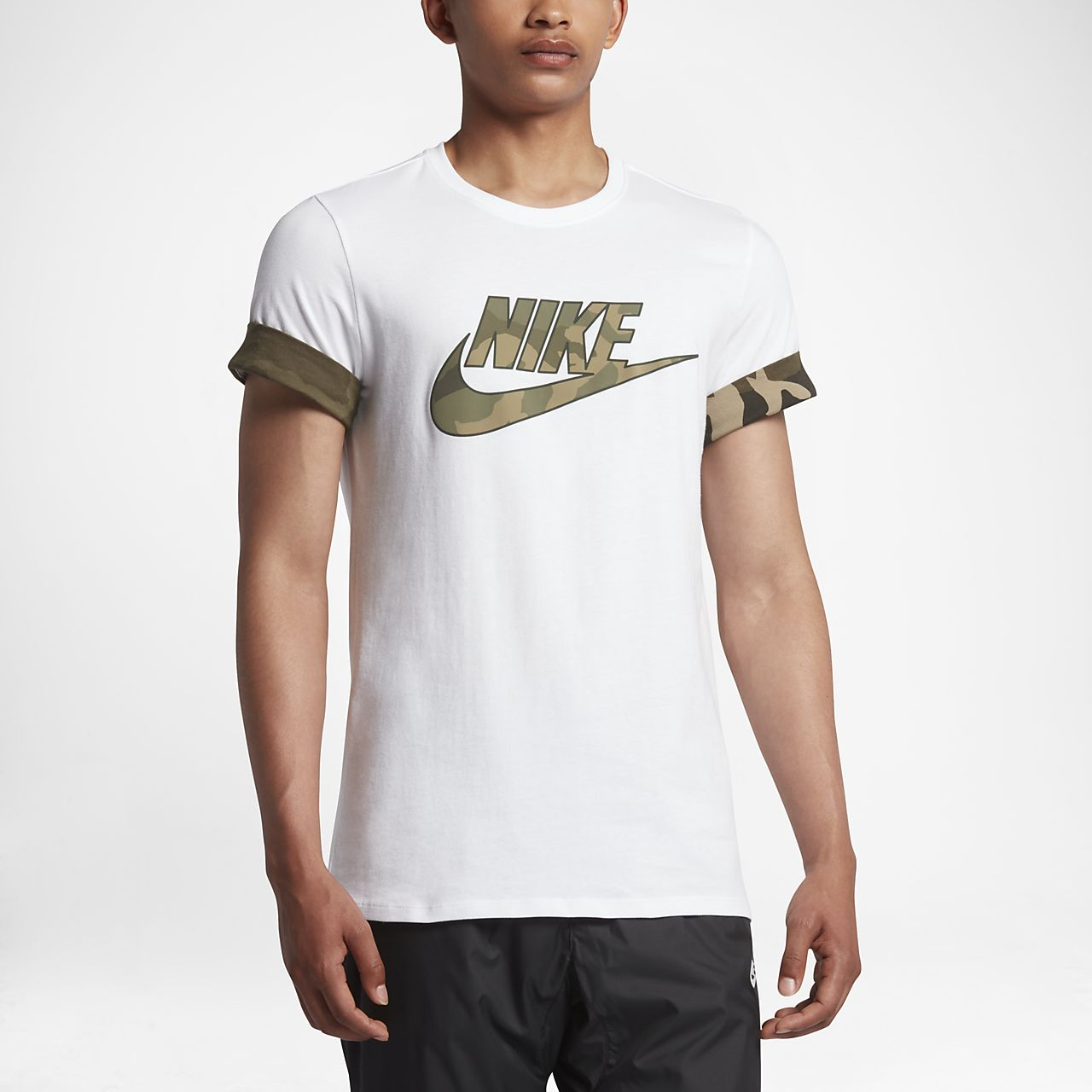 nike sportswear men 39 s camo t shirt gb. Black Bedroom Furniture Sets. Home Design Ideas