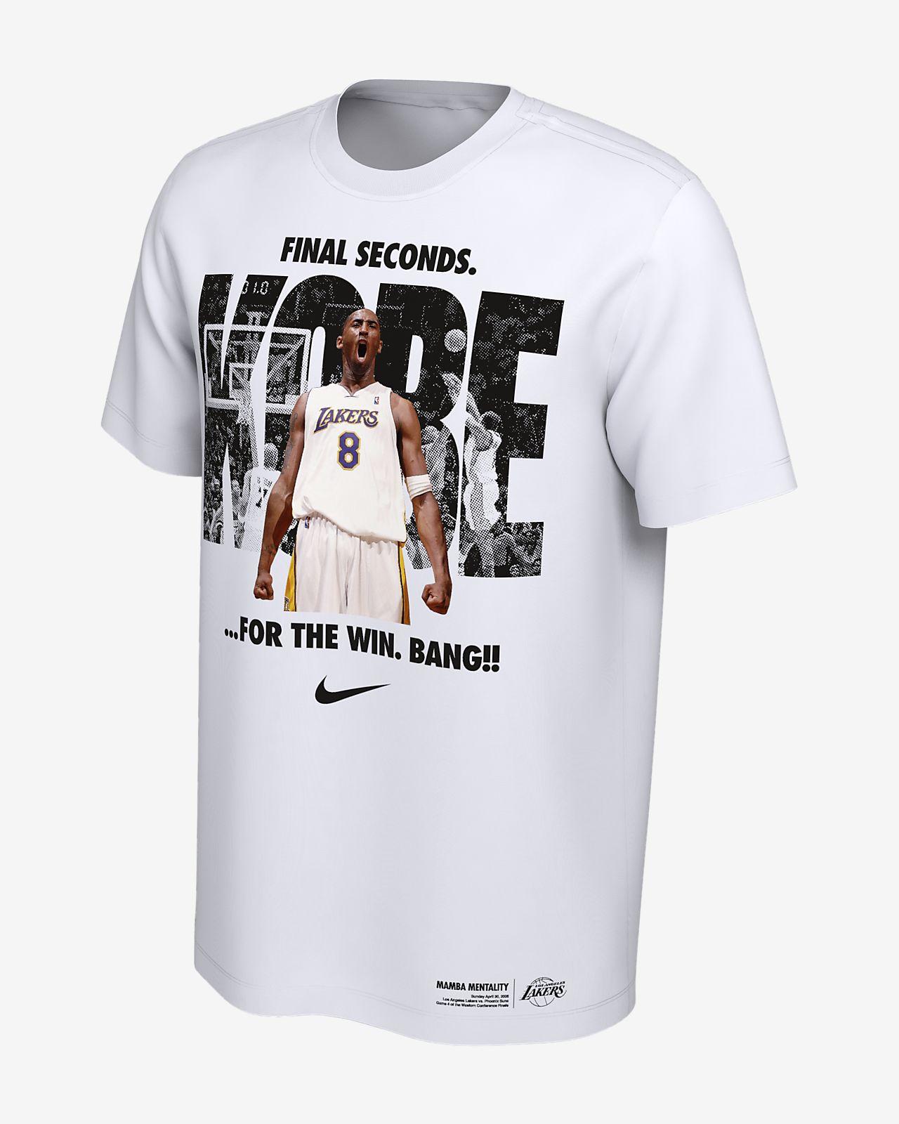 36db86b33b1d Men s NBA Graphic T-Shirt. Kobe Bryant Los Angeles Lakers Nike Dri-FIT